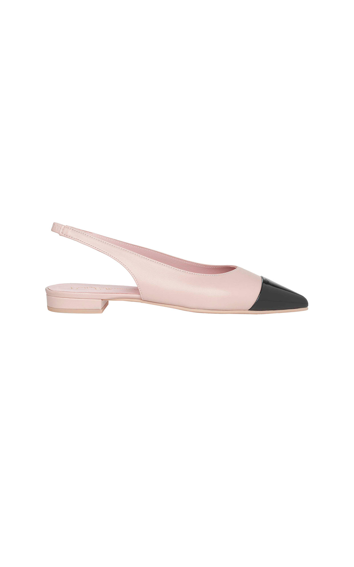 Black and nude slipper Pretty Ballerinas