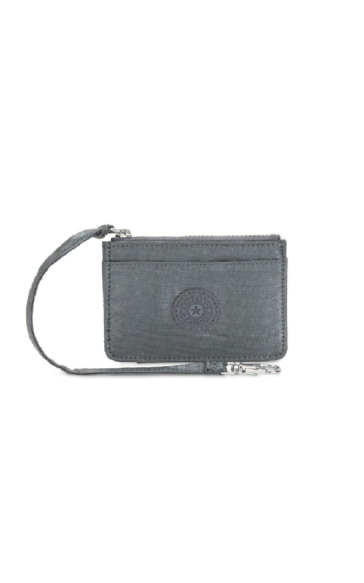 Grey card holder Kipling