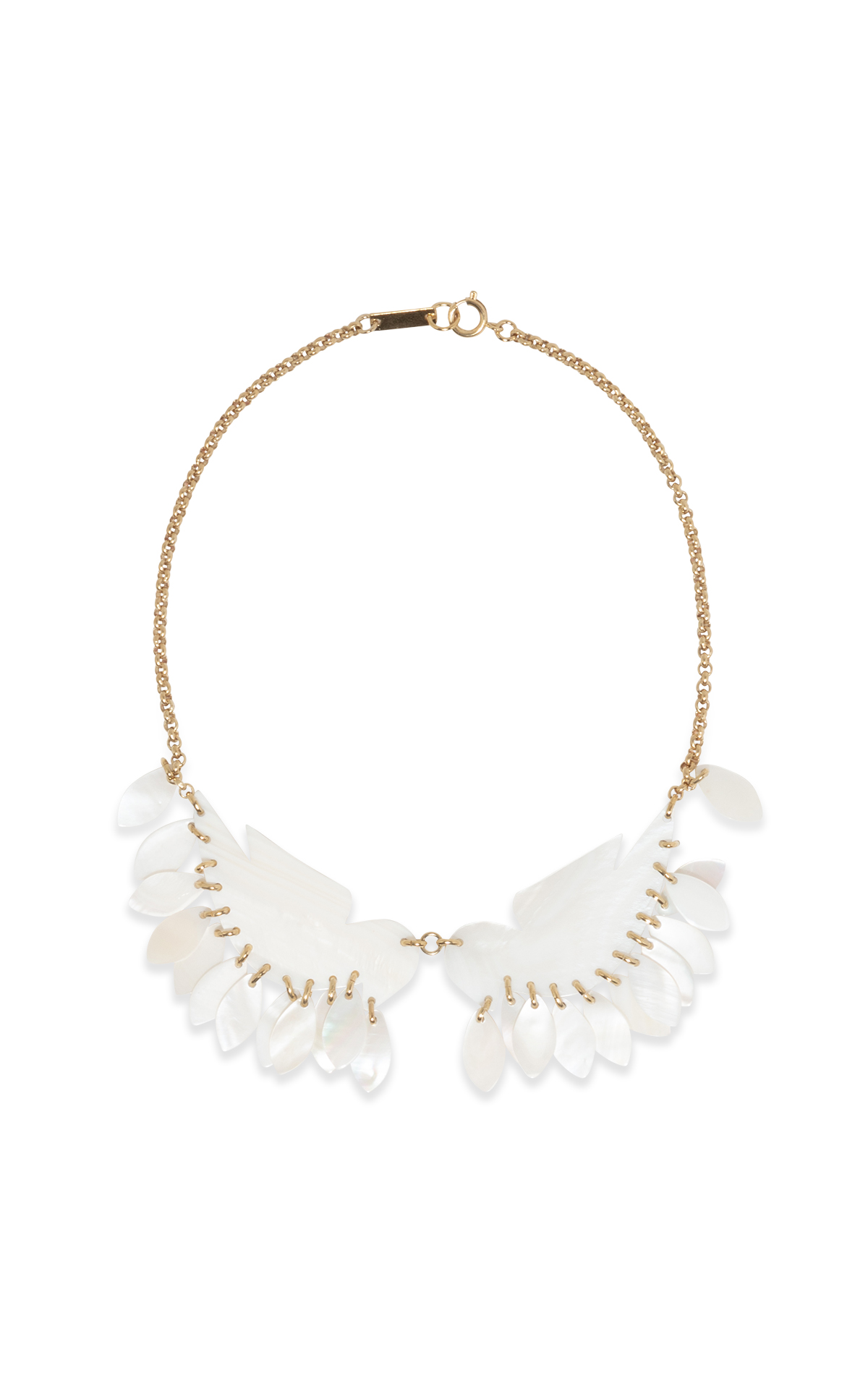 La Vallée Village Isabel Marant White detail necklace