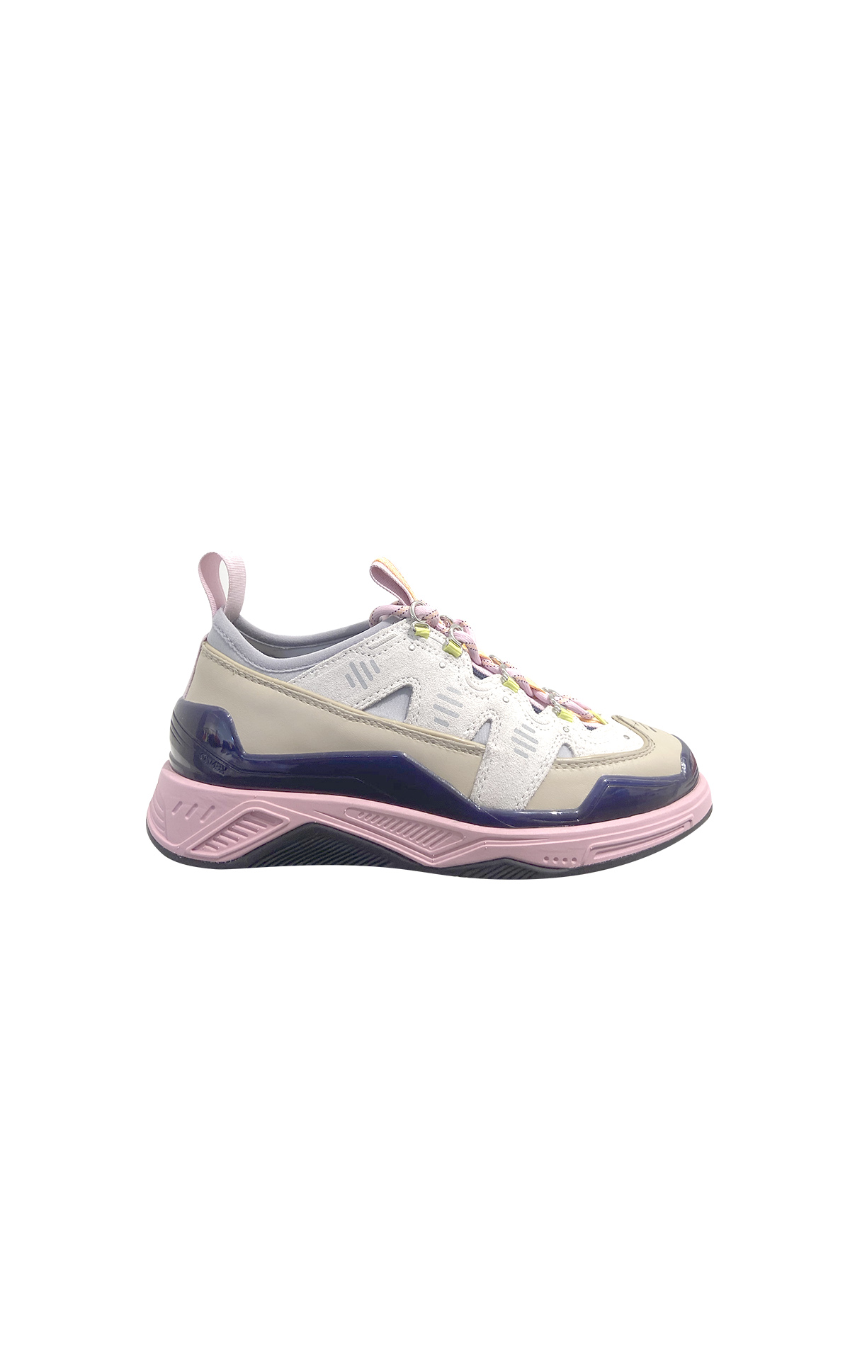 Pink and purple sneakers Kenzo