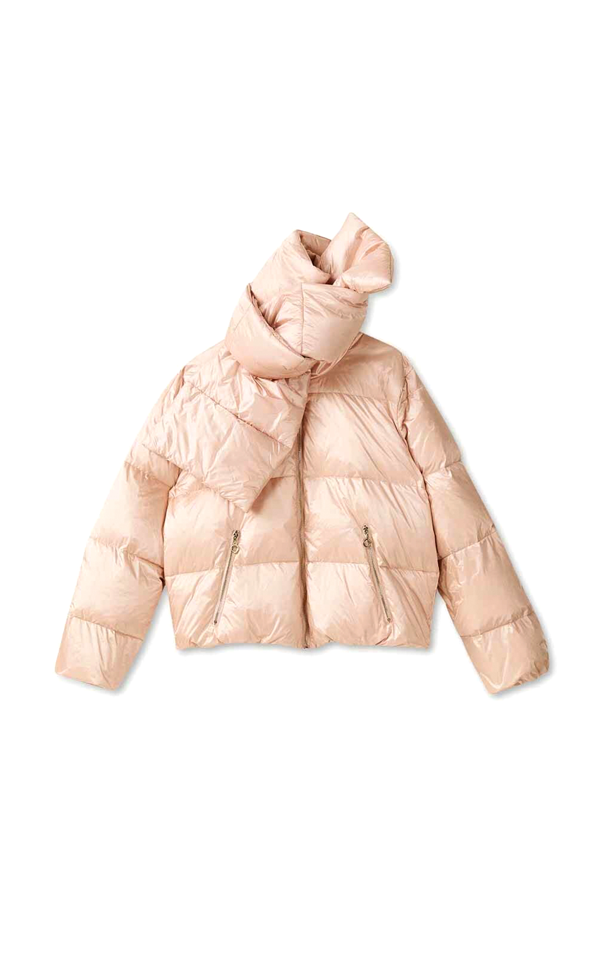 Light pink down jacket Liu Jo