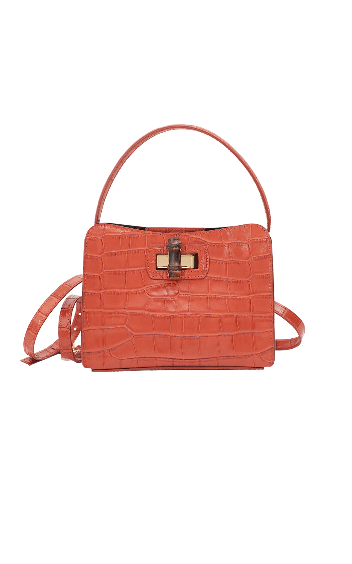 Orange bag from Baldinini
