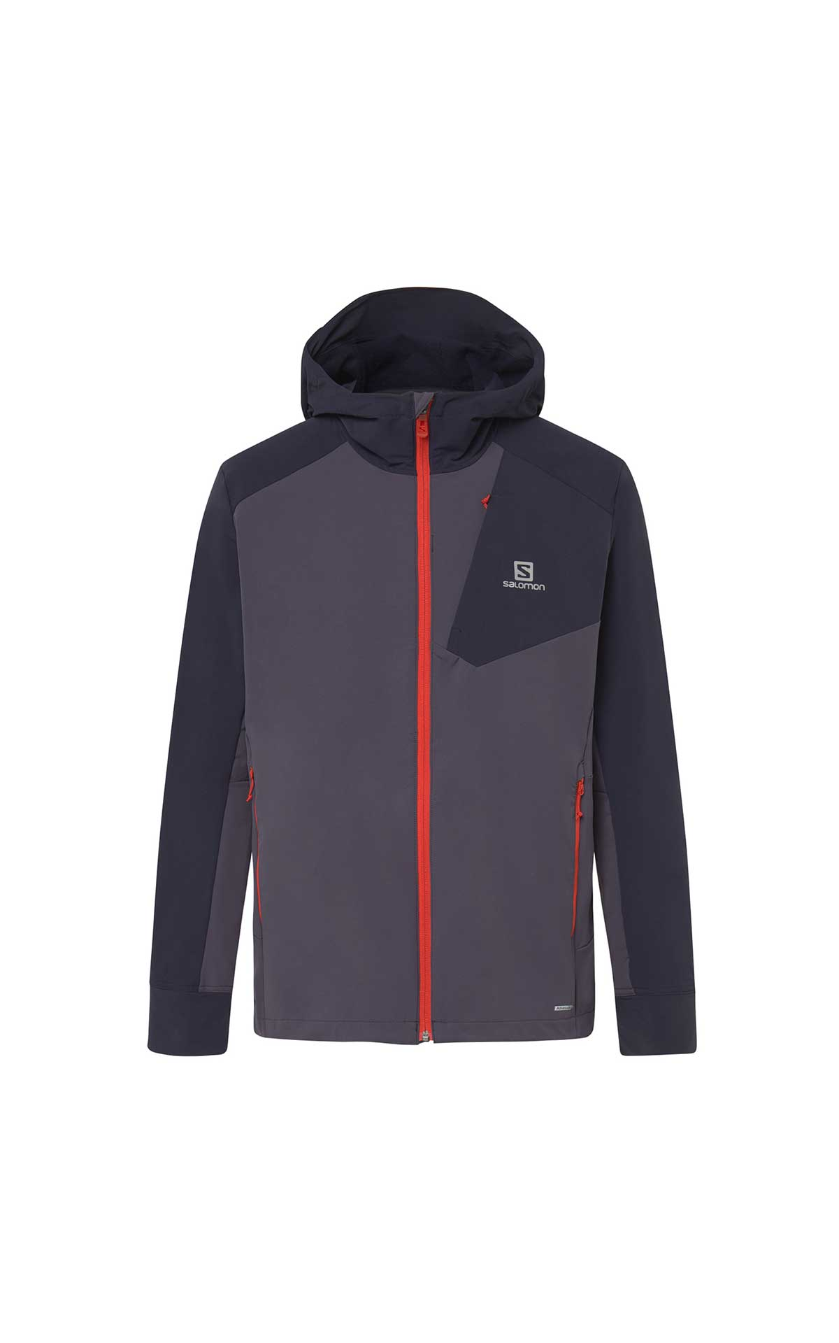 Grey sport jacket man Salomon