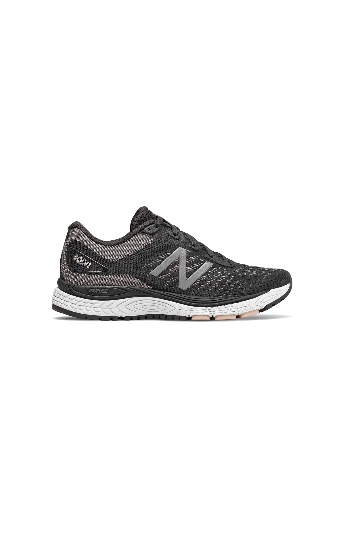 New Balance SOLVI V2 in black at The Bicester Village Shopping Collection