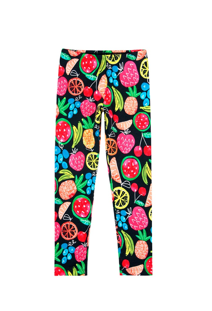 Pant with a fruit print girl Bóboli
