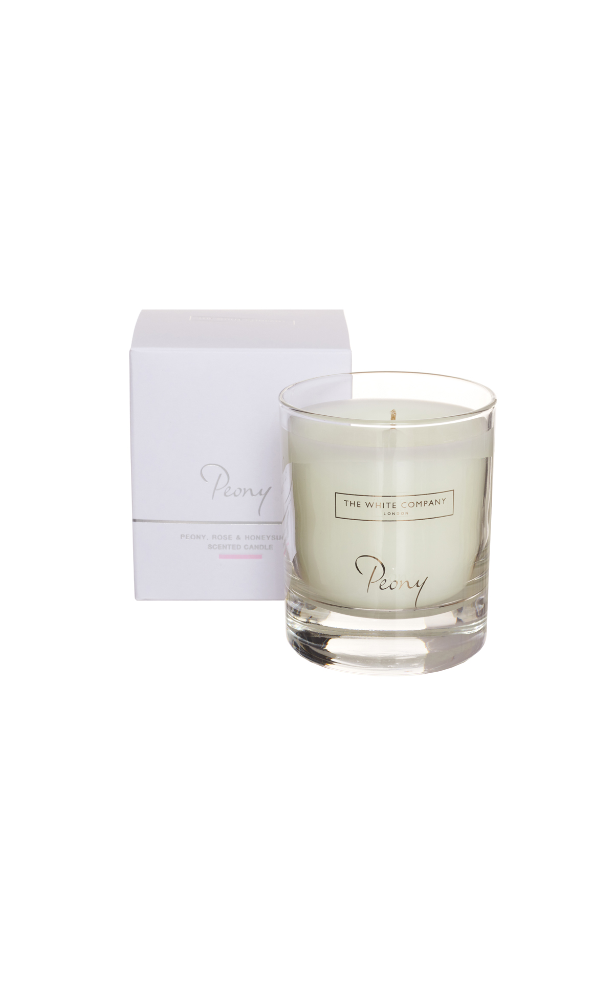 The White Company Peony candle from Bicester Village