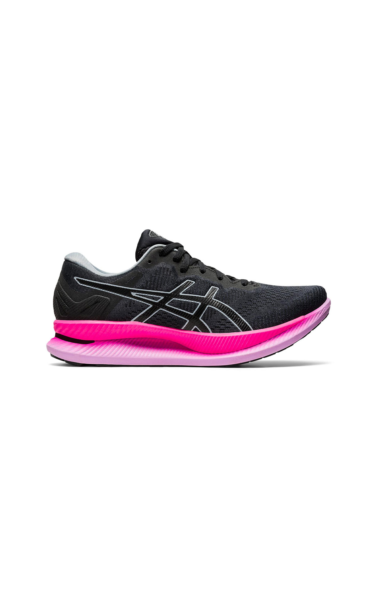 ASICS Women's black and pink Glideride trainer from Bicester Village