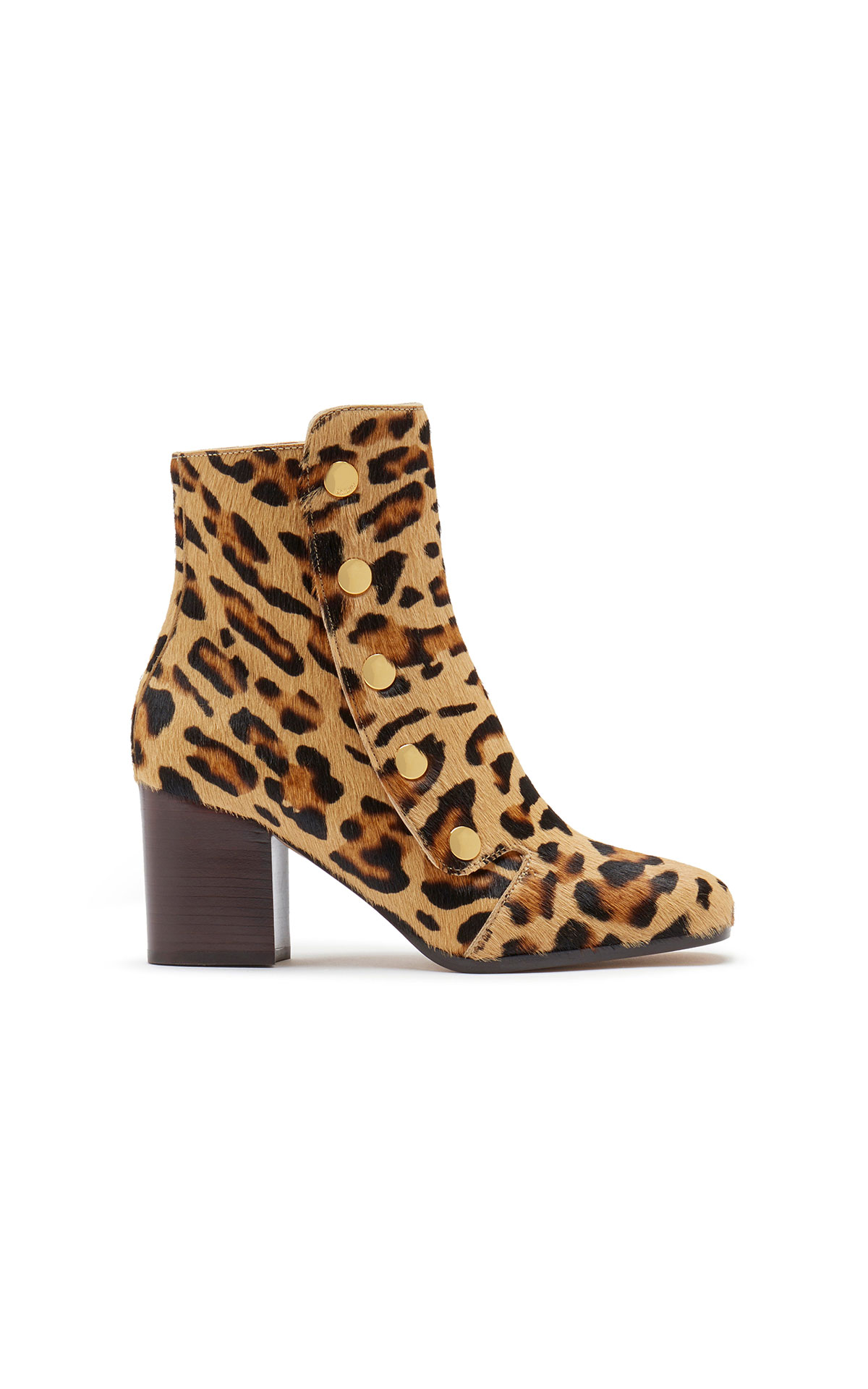 Mulberry Marylebone bootie 70 leopard print from Bicester Village