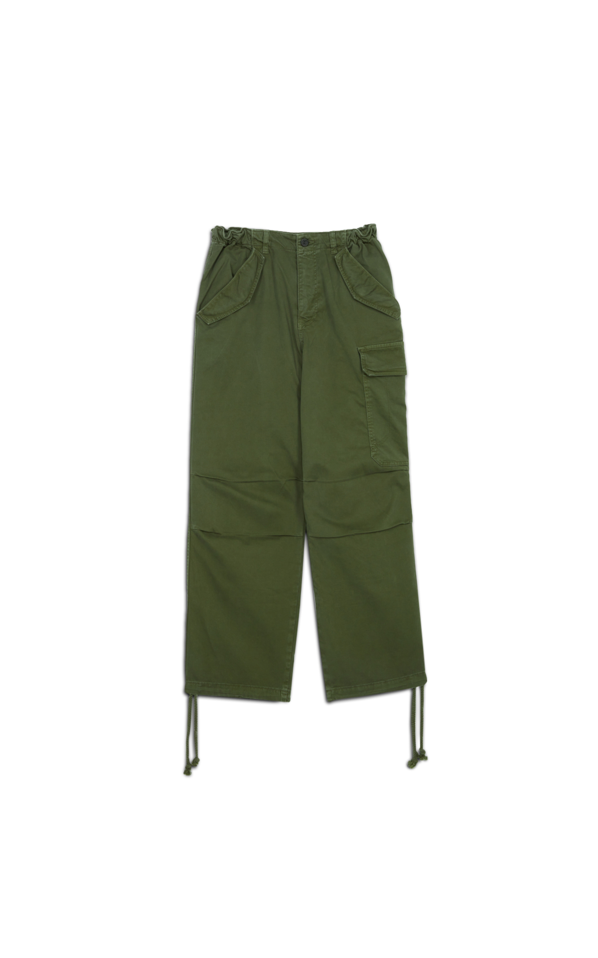 Ba&sh Pantalon Maxi Kaki la vallée village