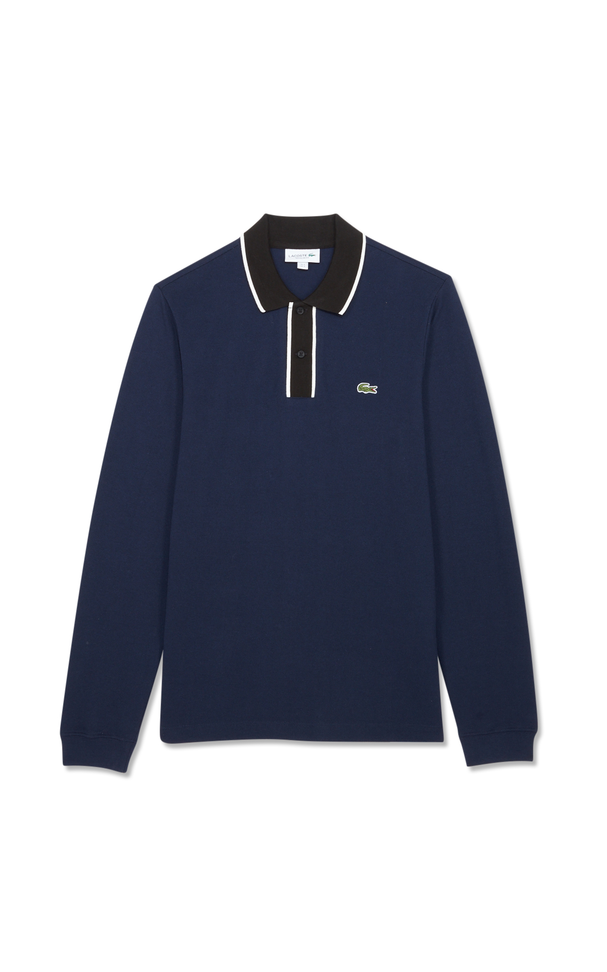 Lacoste Black and blue polo shirt*