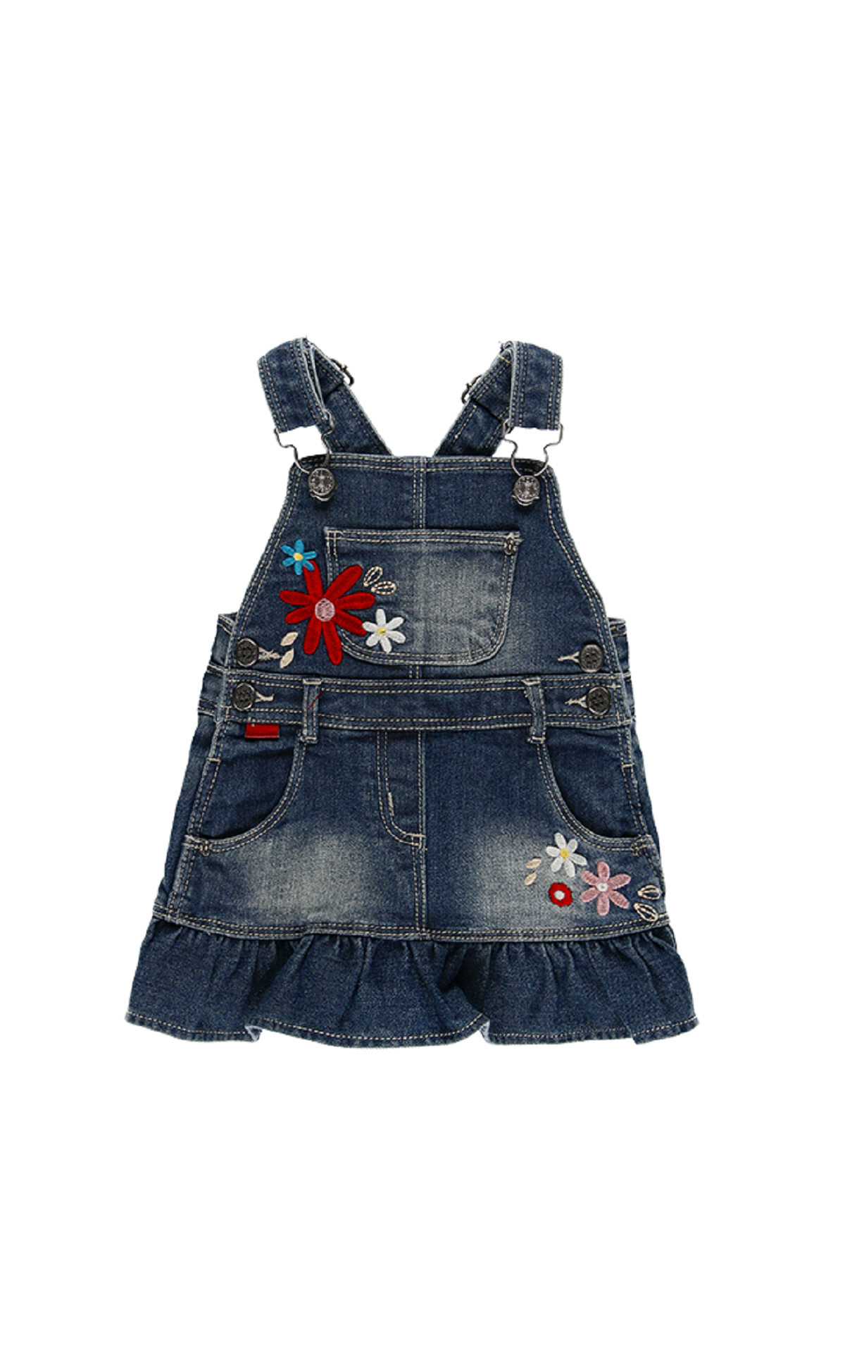 Denim overalls girl boboli