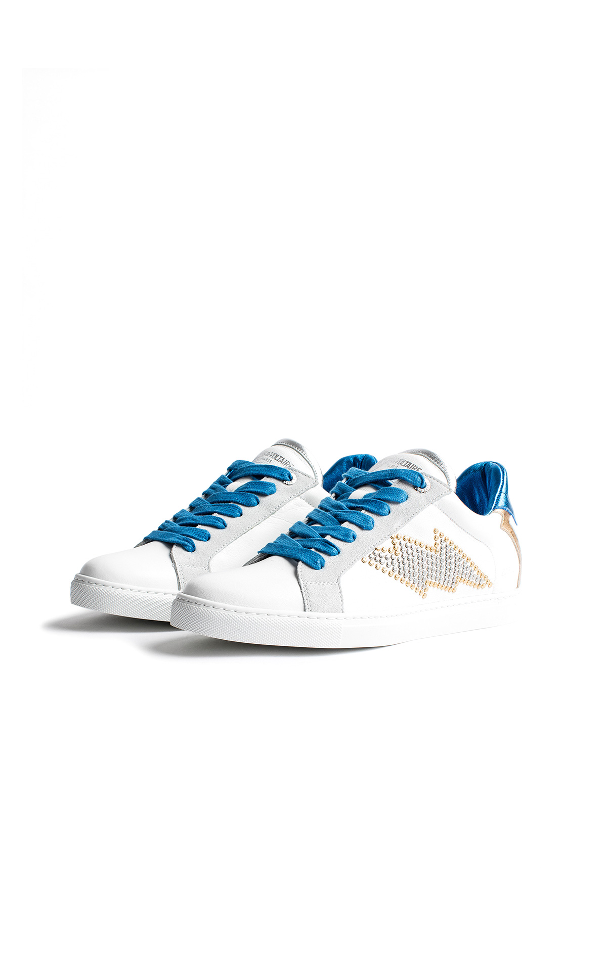 La Vallée Village Zadig & Voltaire Flash studs sneakers