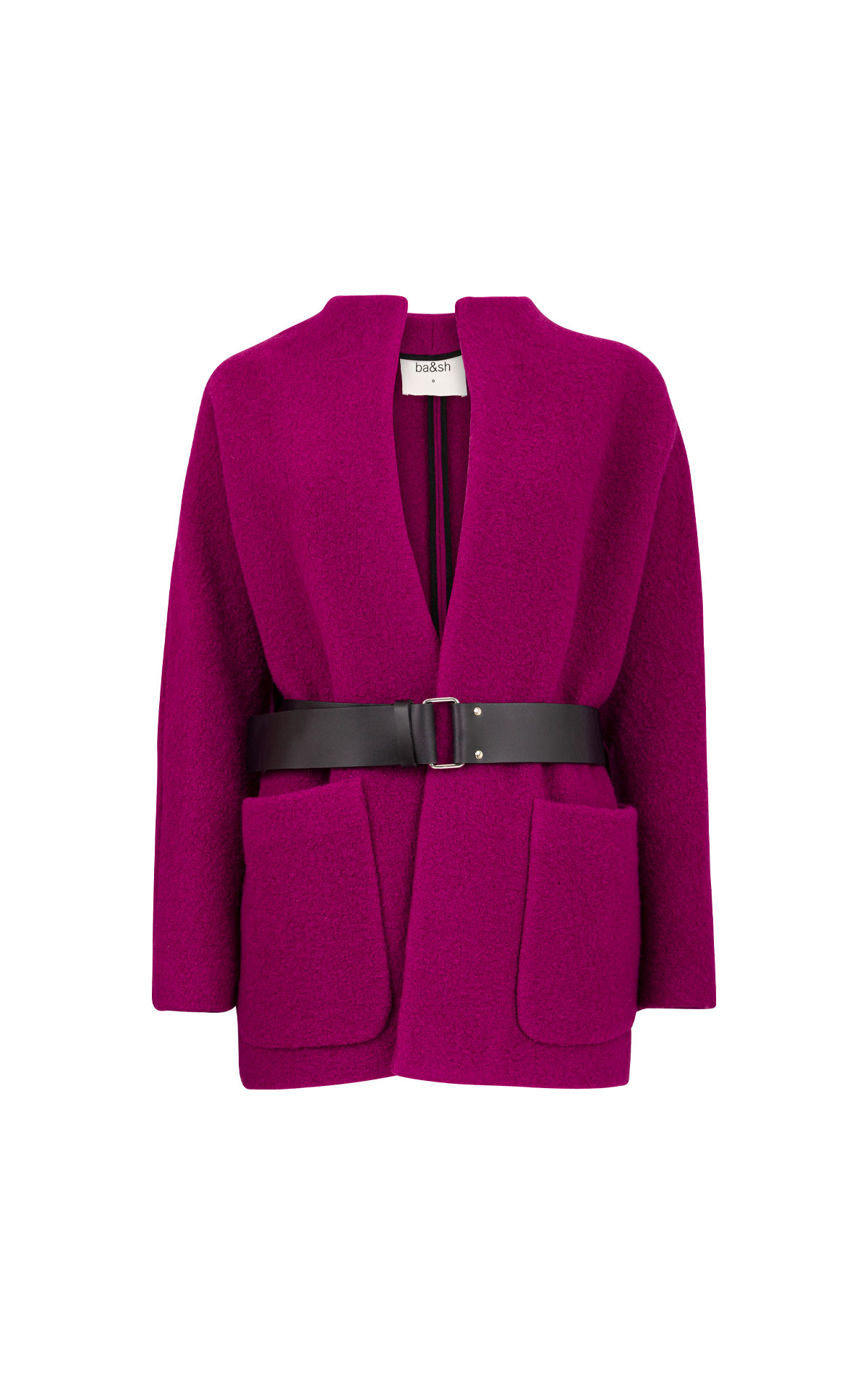 ba&sh coat purple
