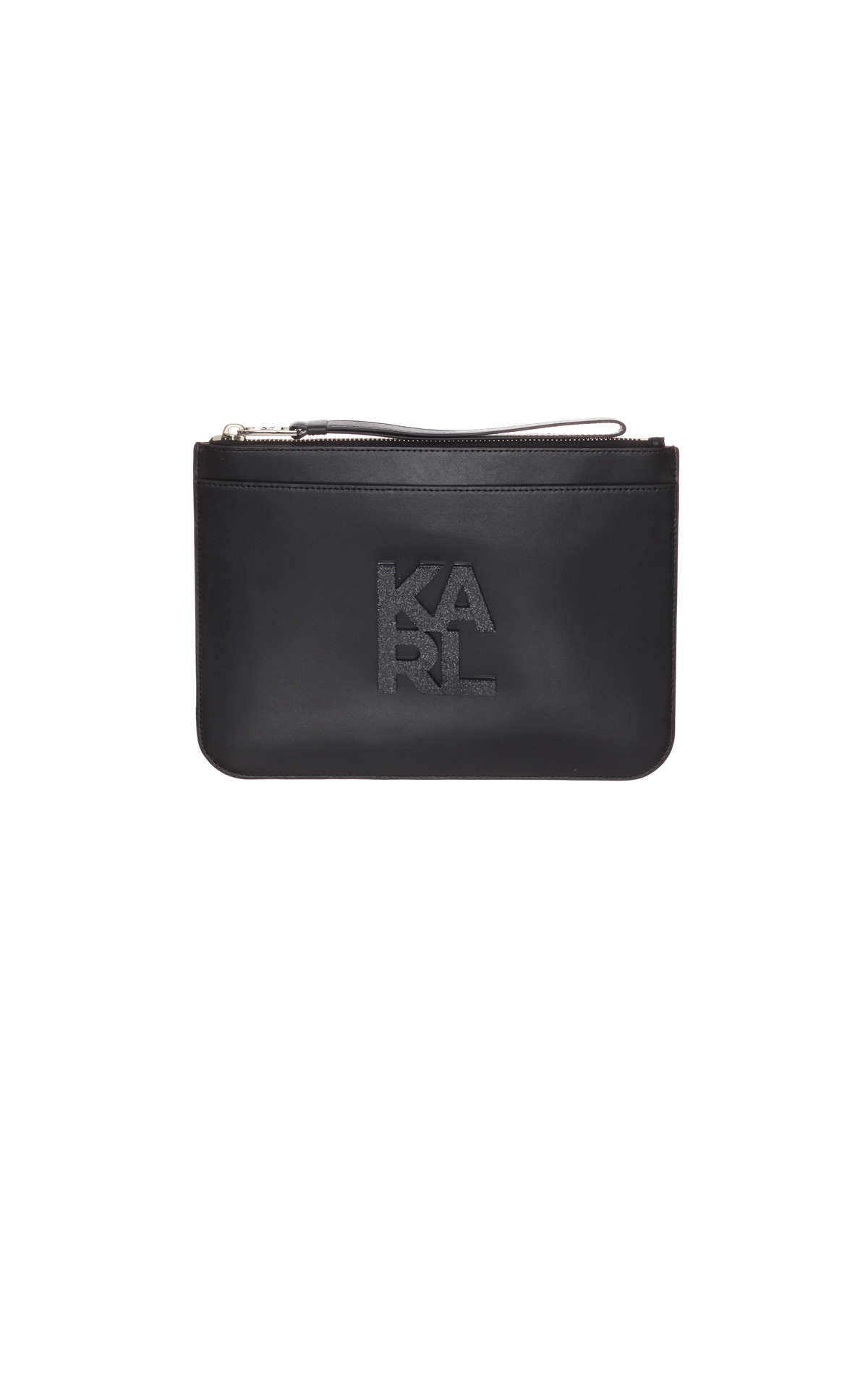 Karl Lagerfeld k/karl logo pouch at The Bicester Village Shopping Collection