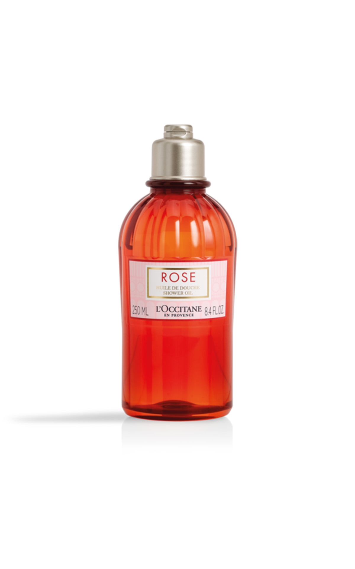 L'Occitane Rose shower oil 250ml from Bicester Village