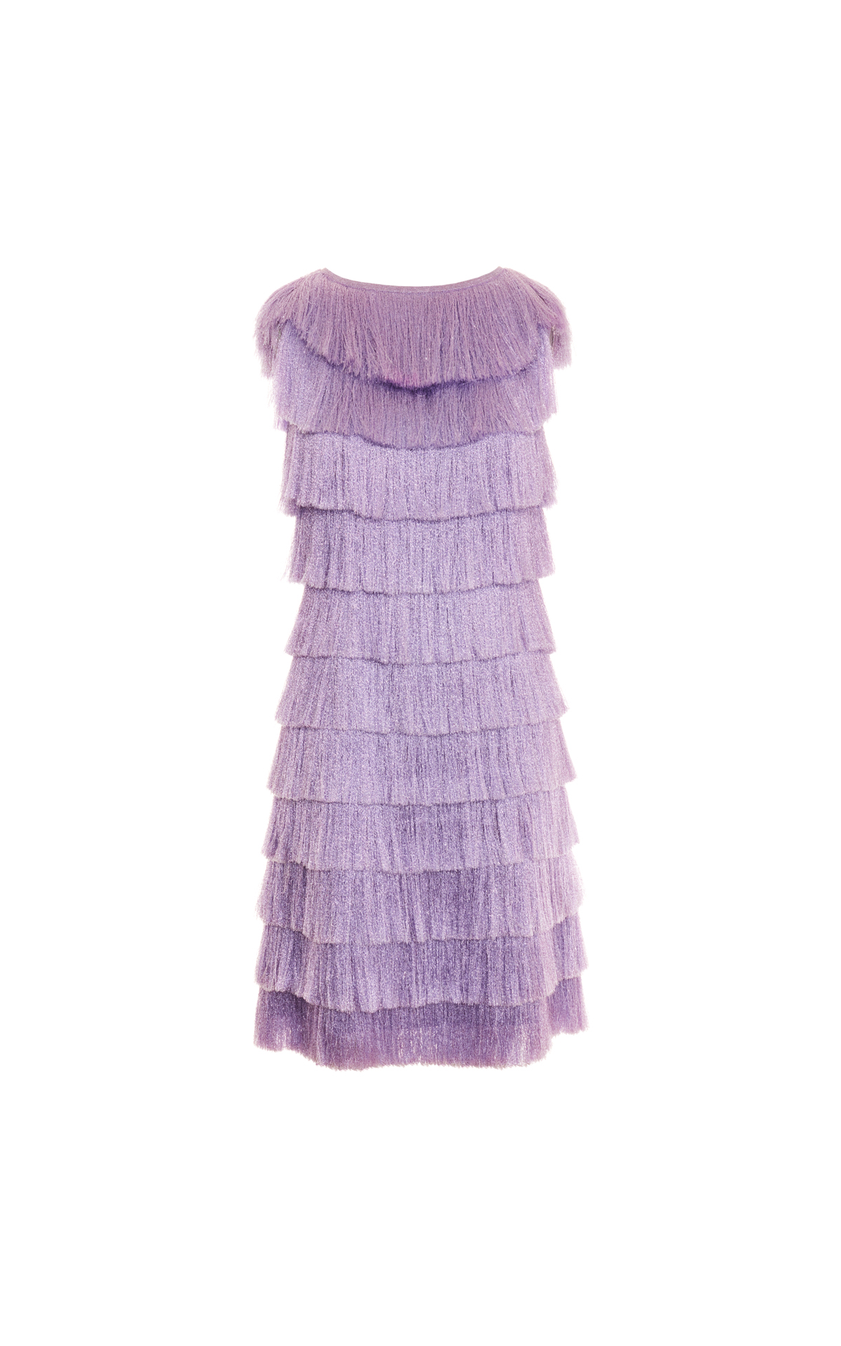 Missoni Lilac fringe dress from Bicester Village