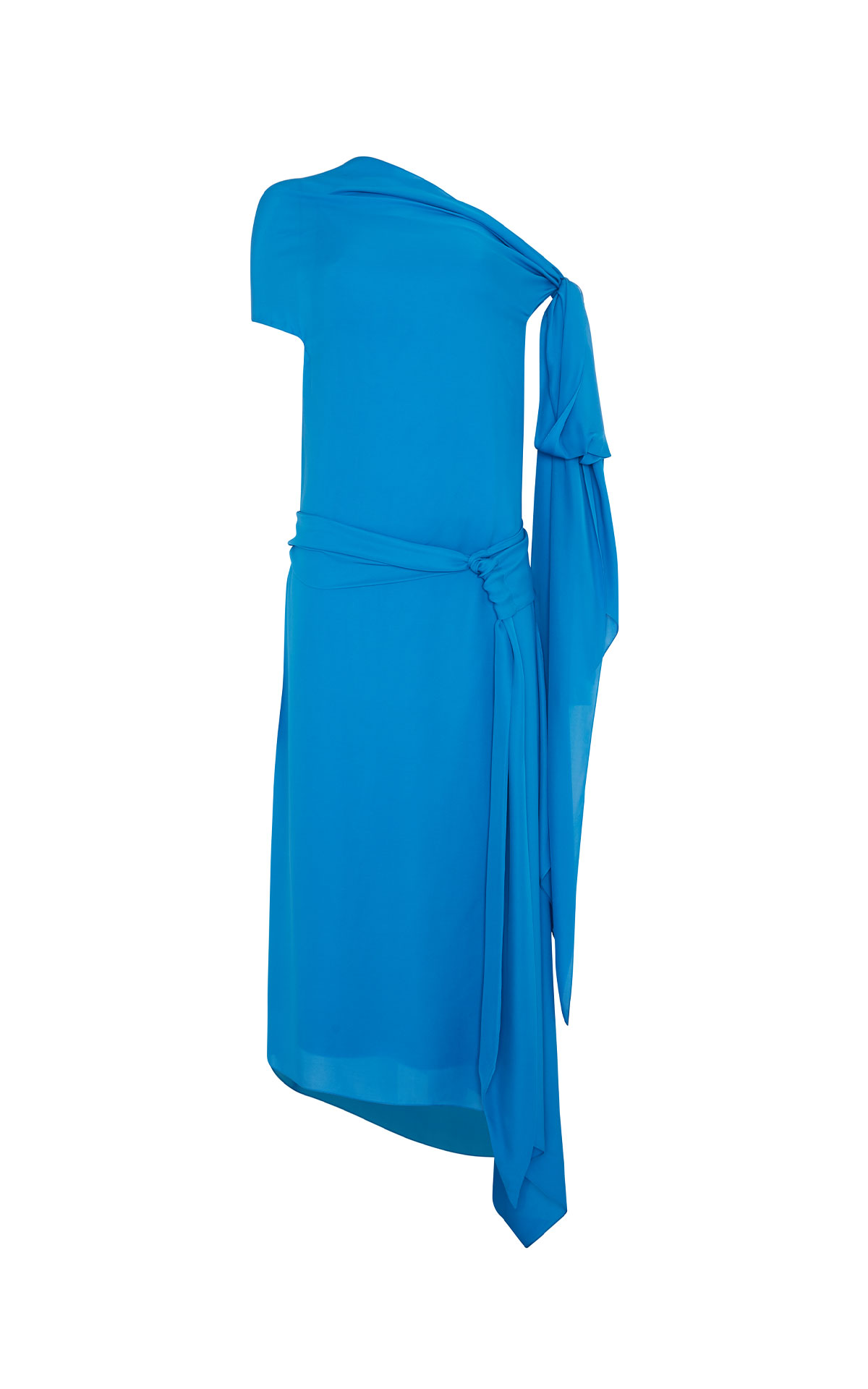 Roland Mouret Hadera azure blue dress from Bicester Village