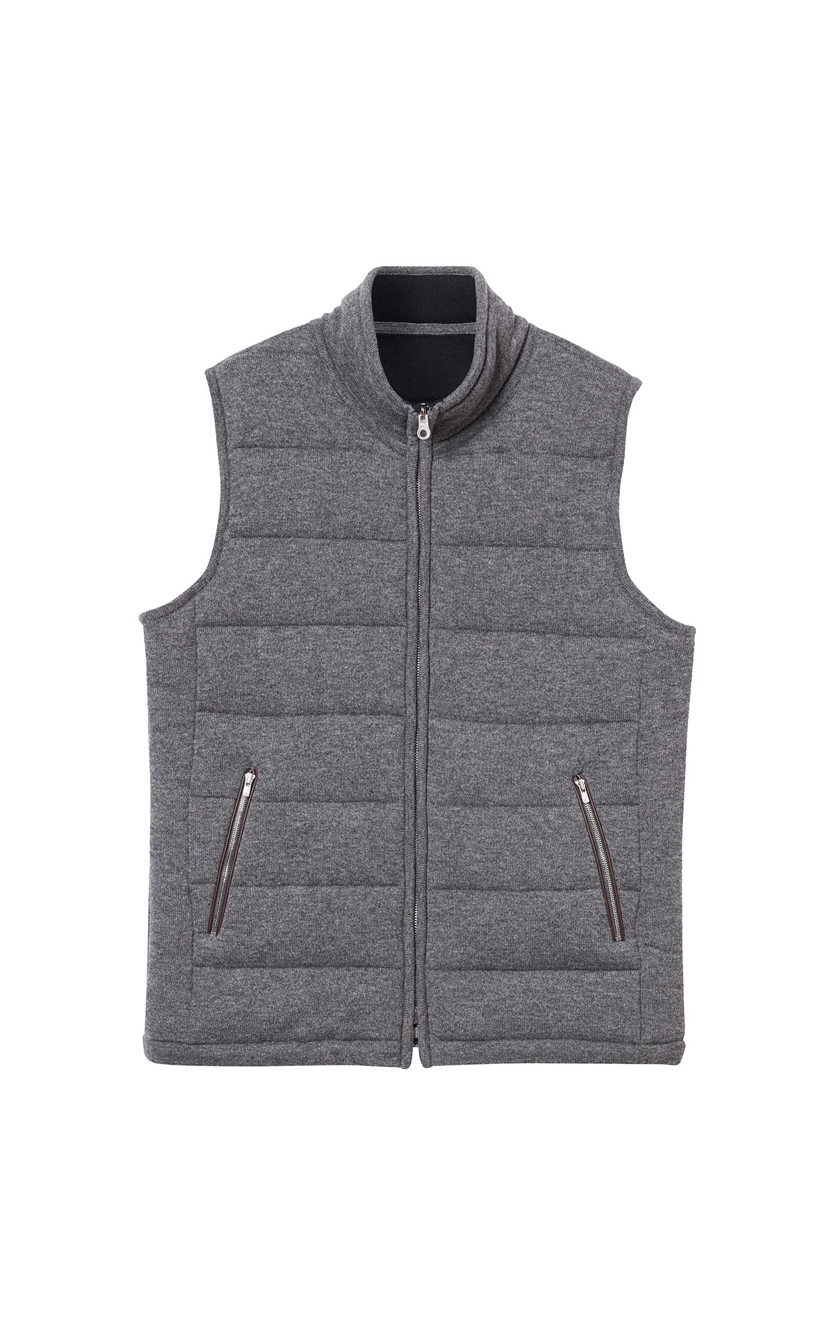 N. Peal Mall quilted gilet from Bicester Village
