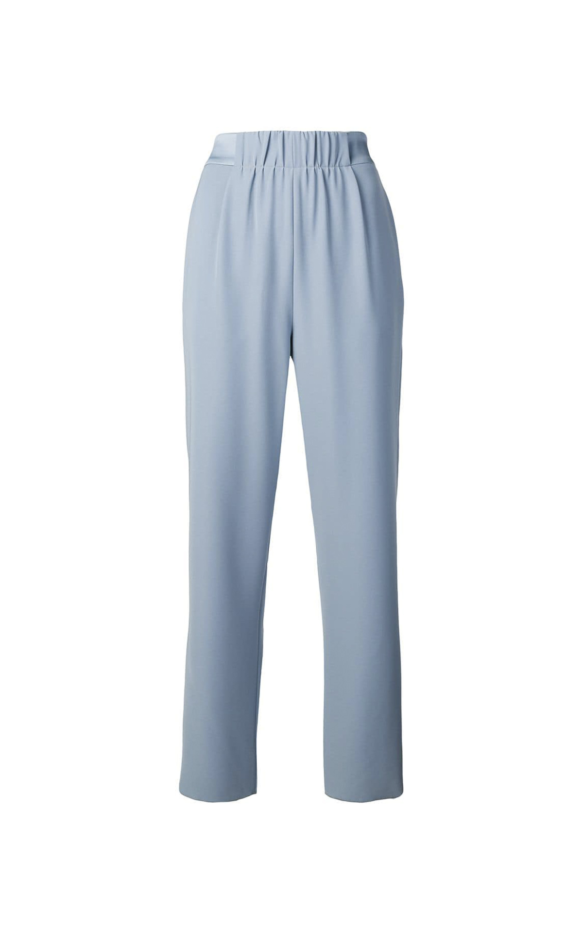 Light blue pants for woman Armani
