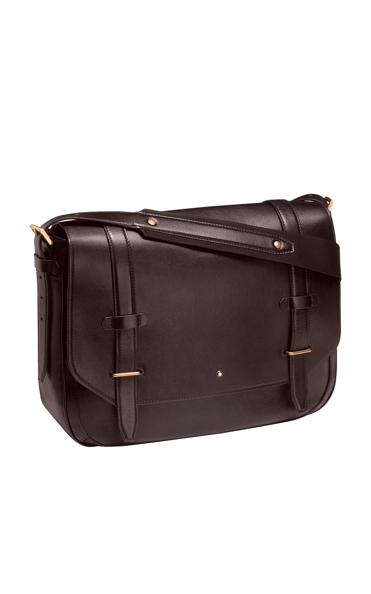 Montblanc Messenger, Dark Brown from Bicester Village