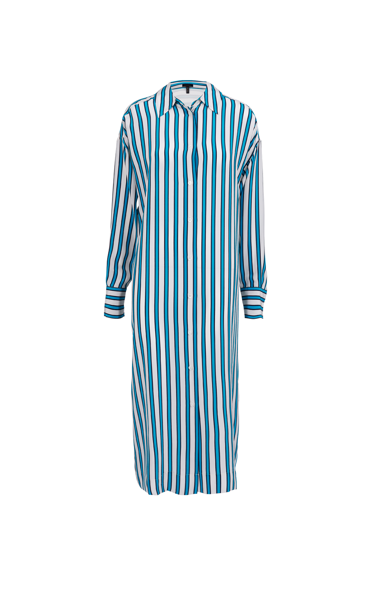 Blue striped dress Escada