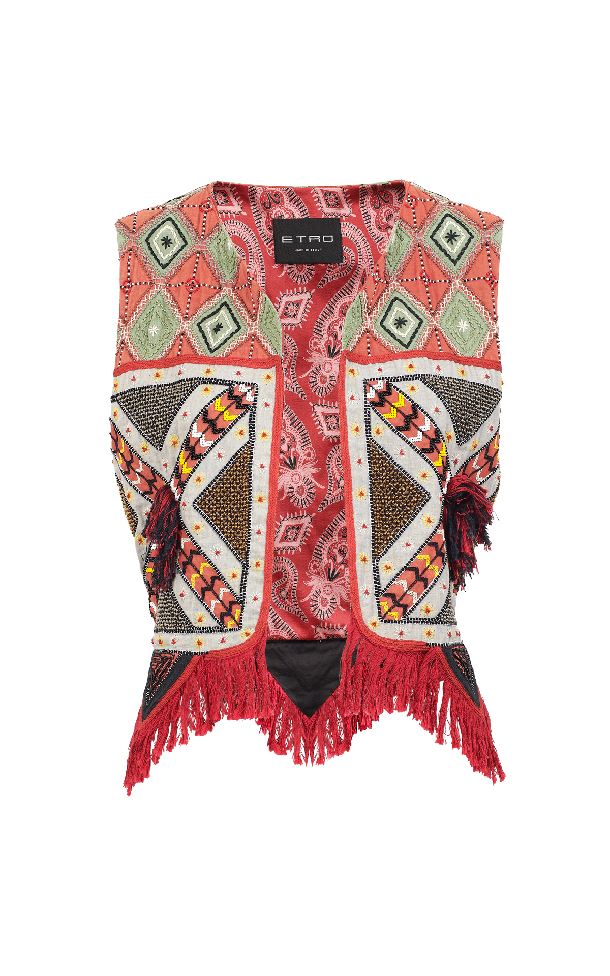 Embroidered vest Etro