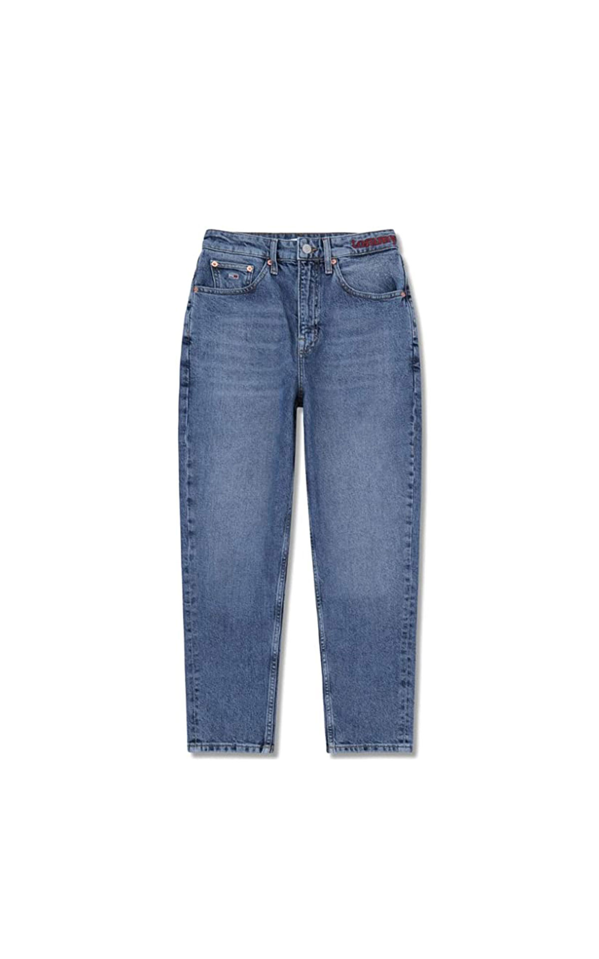 Tommy hilfiger denim high rise tapered jeans at The Bicester Village Shopping Collection