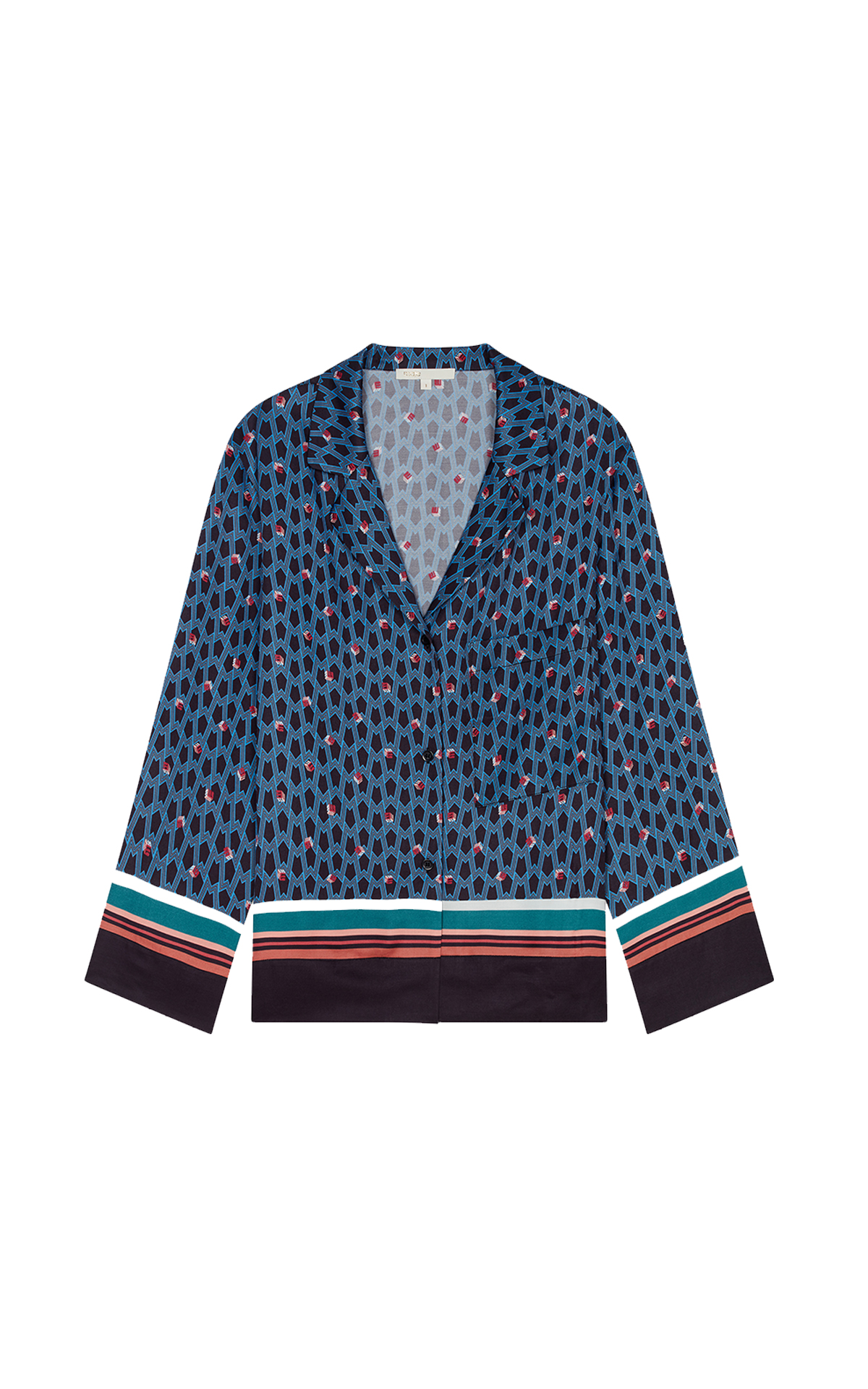 Maje Pajama style shirt at The Bicester Village Shopping Collection