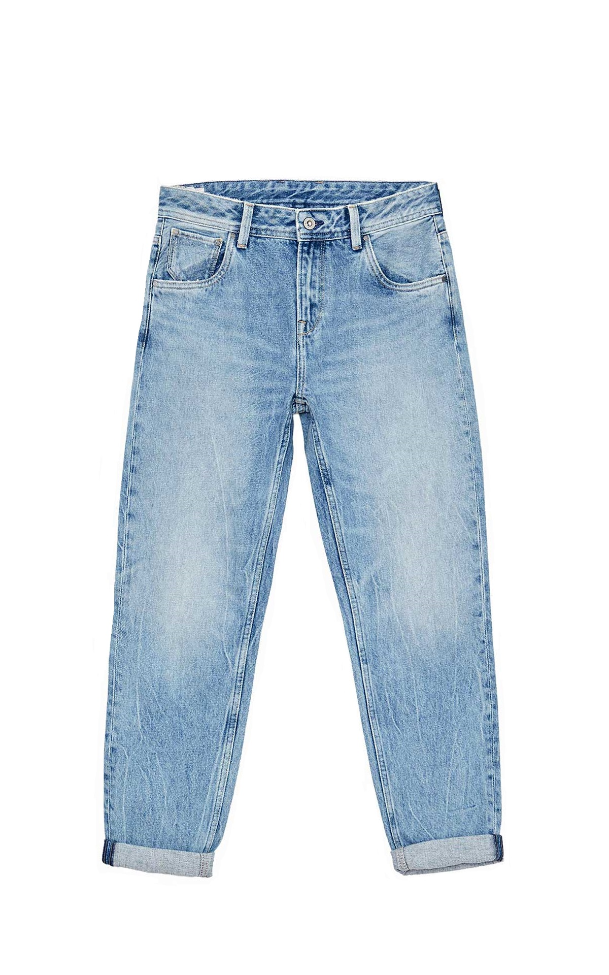 Light blue carrot jeans Dua Lipa x Pepe Jeans