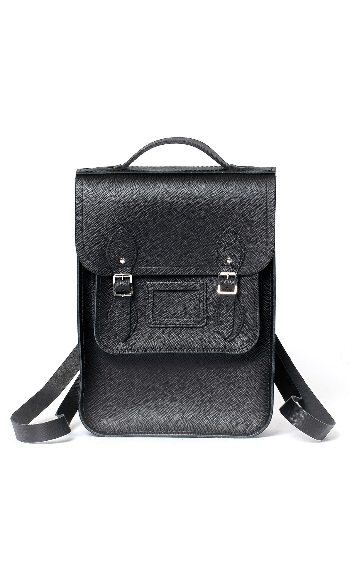 The Cambridge Satchel Company Portrait backpack black saffiano from Bicester Village