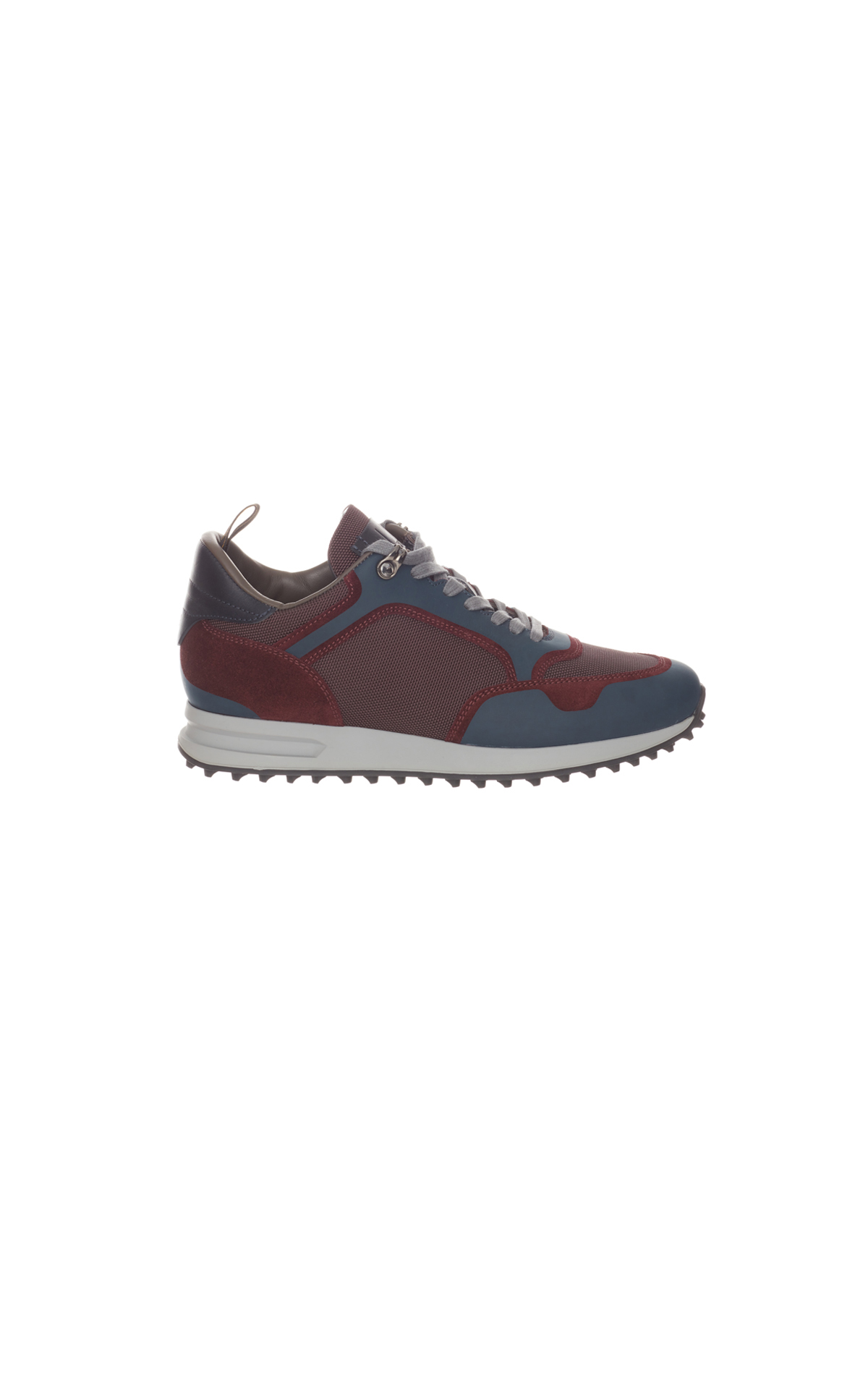dunhill Radial runner trainer red and blue from Bicester Village