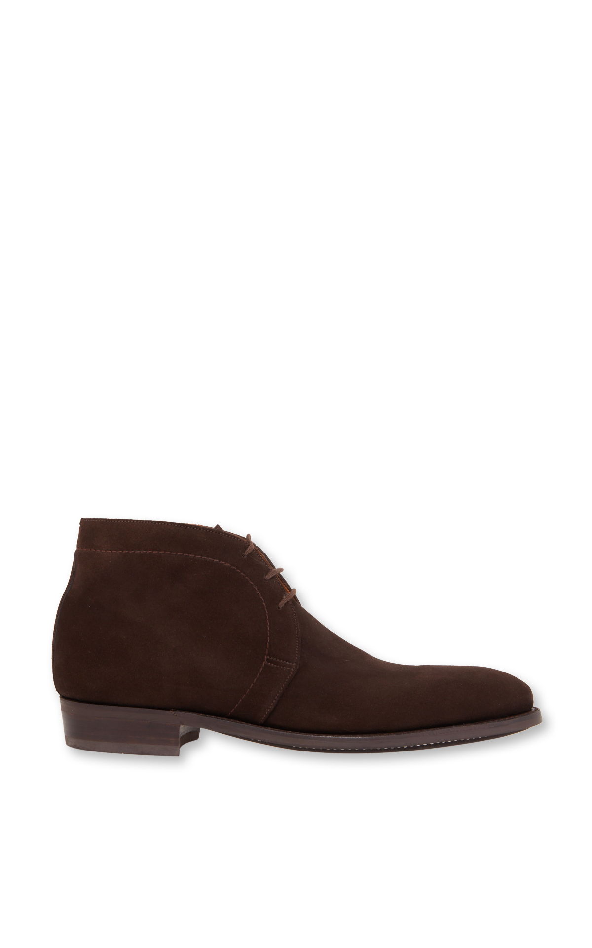 JM Weston Taupe suede shoes