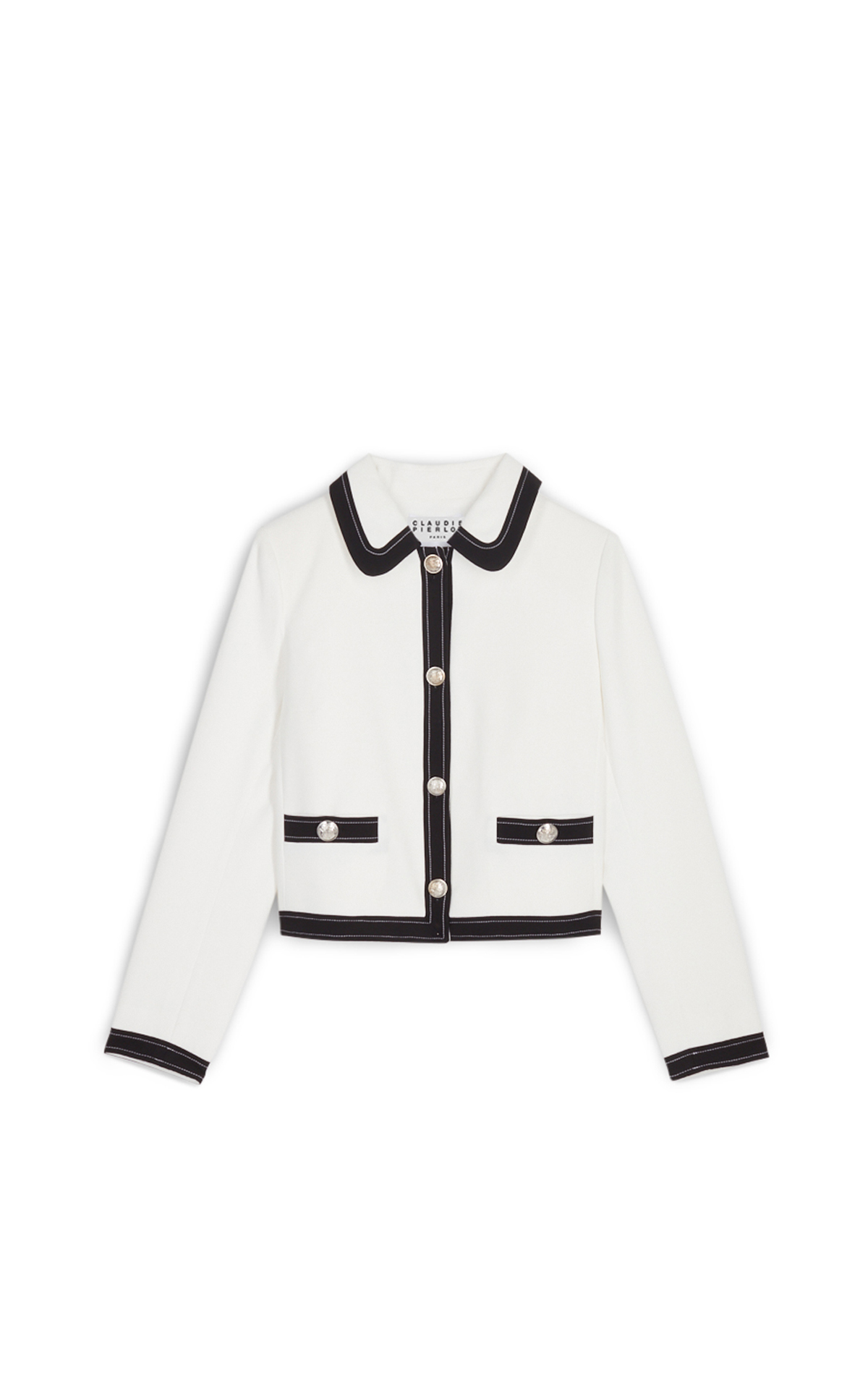 Claudie Pierlot Ecru Vallea jacket*