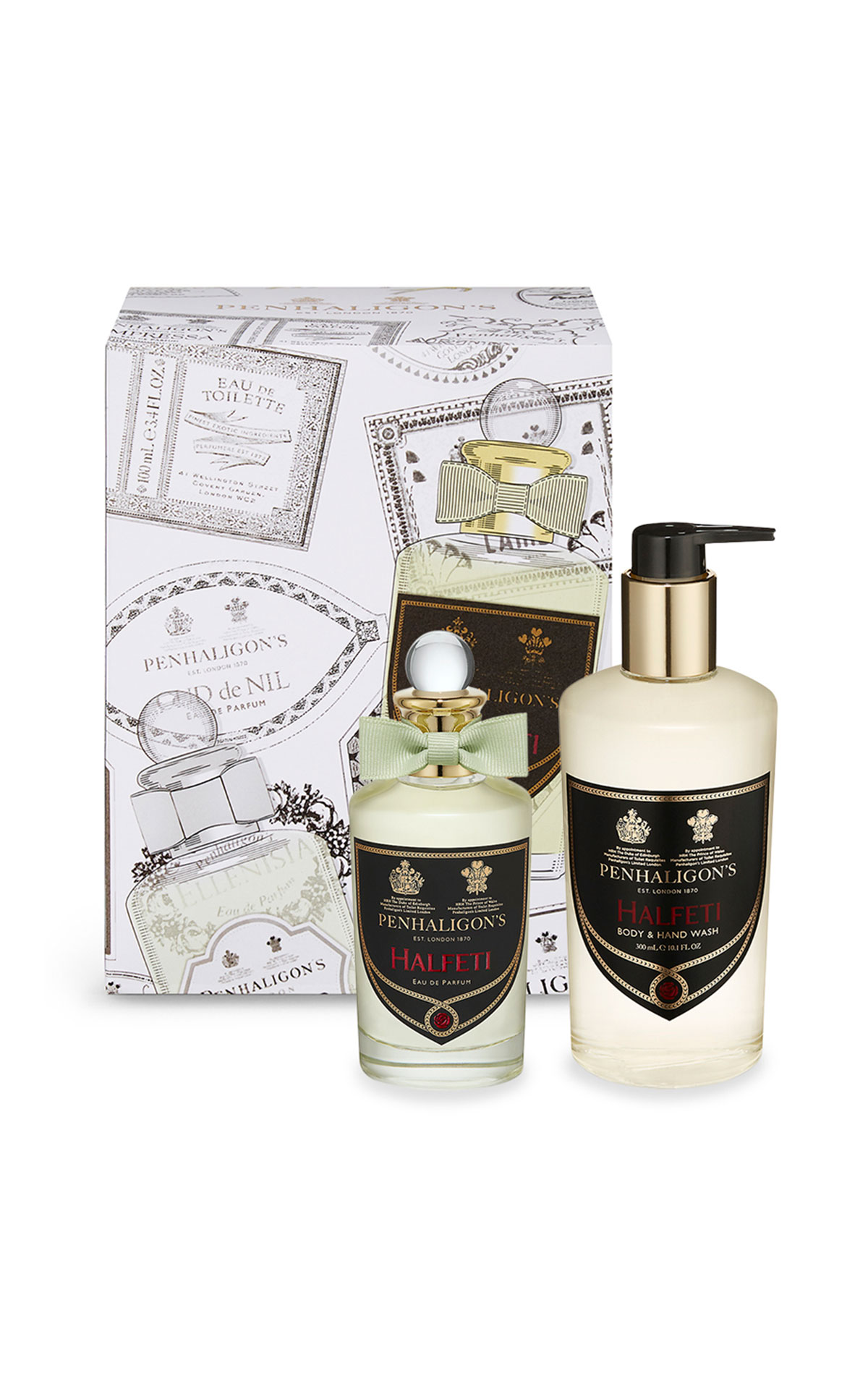 Penhaligon's Halfeti 100ml and Halfeti body and hand wash from Bicester Village