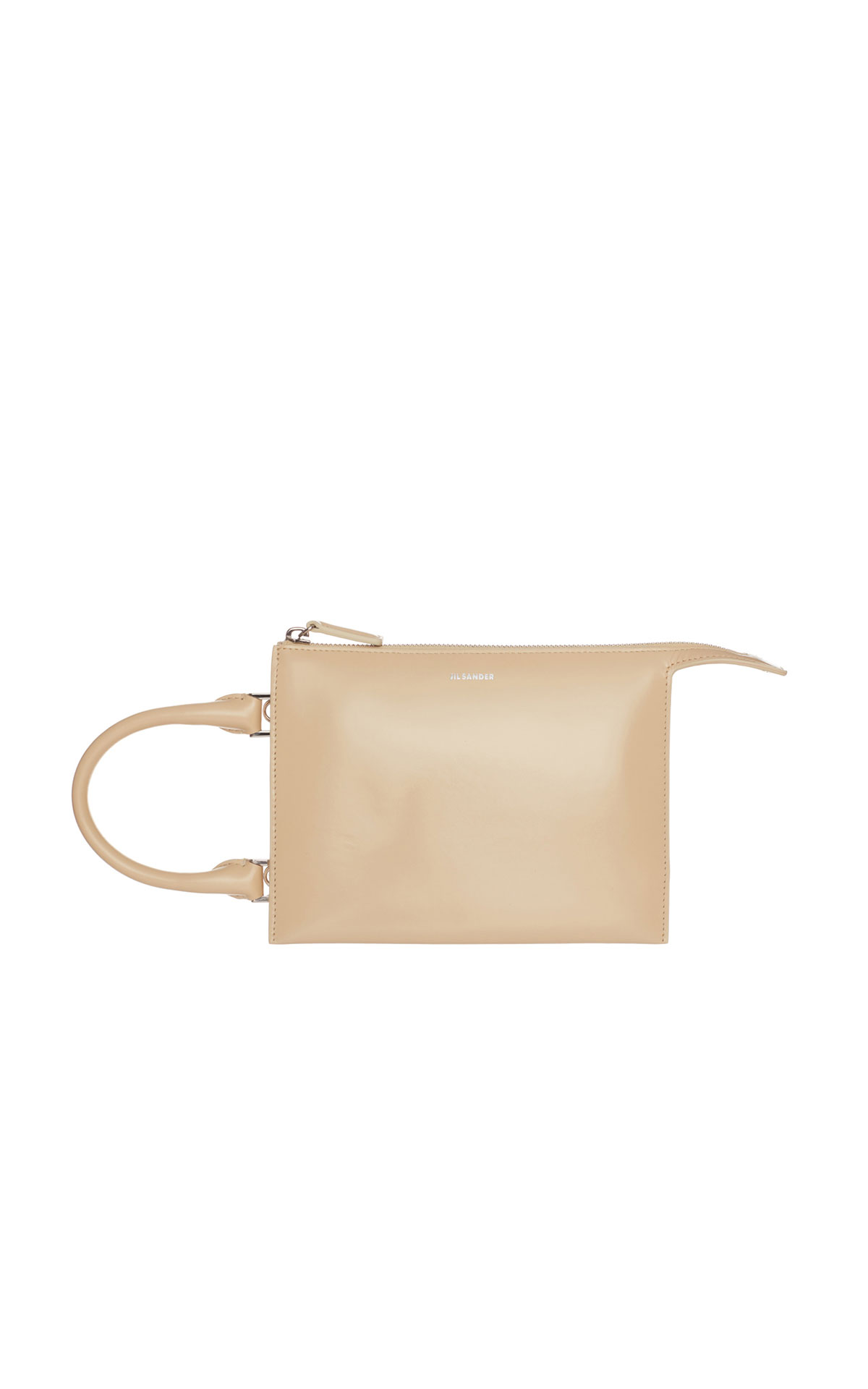 Jil Sander Tootie mini bag in egg from Bicester Village