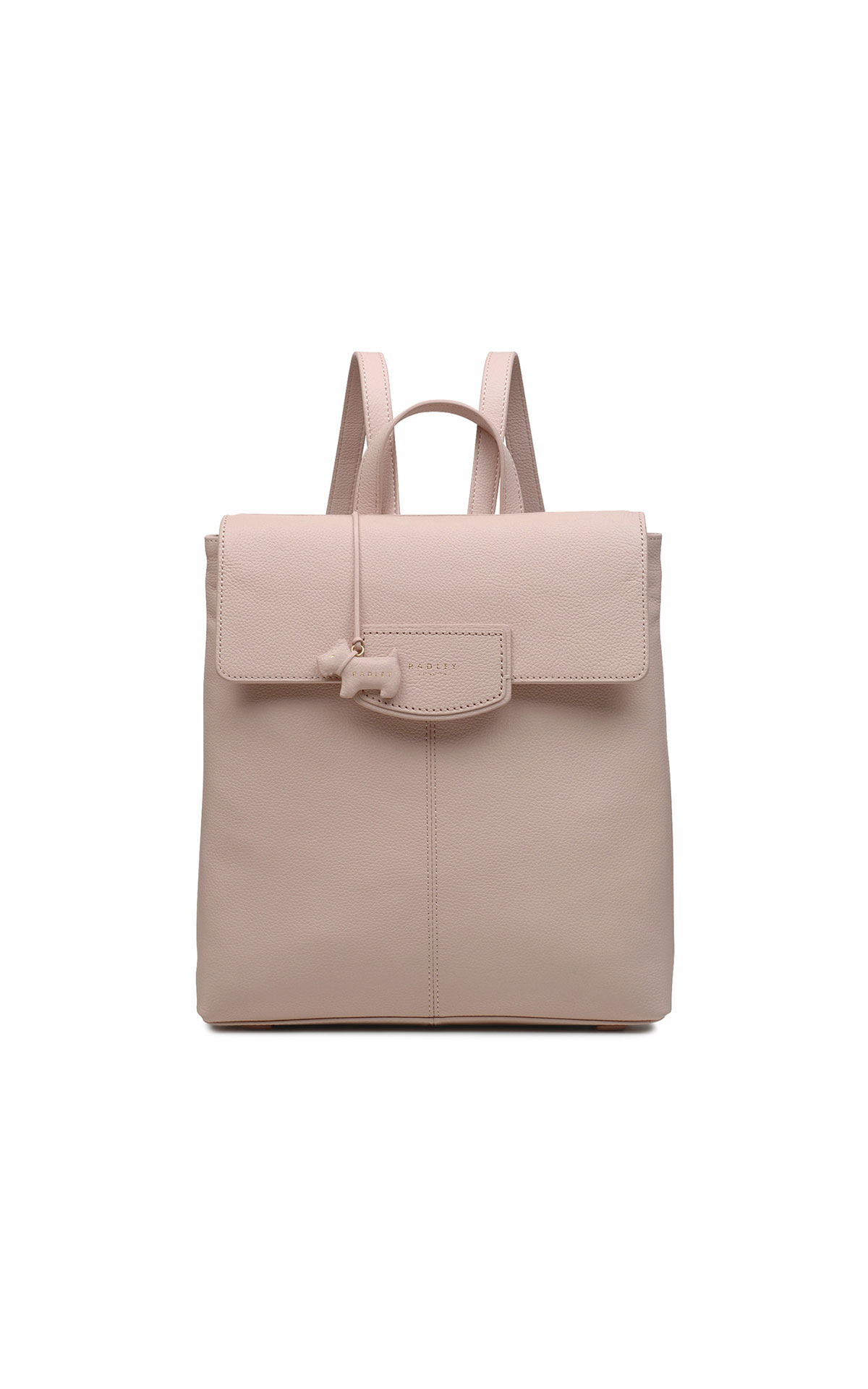 Radley Medium flapover backpack pink from Bicester Village