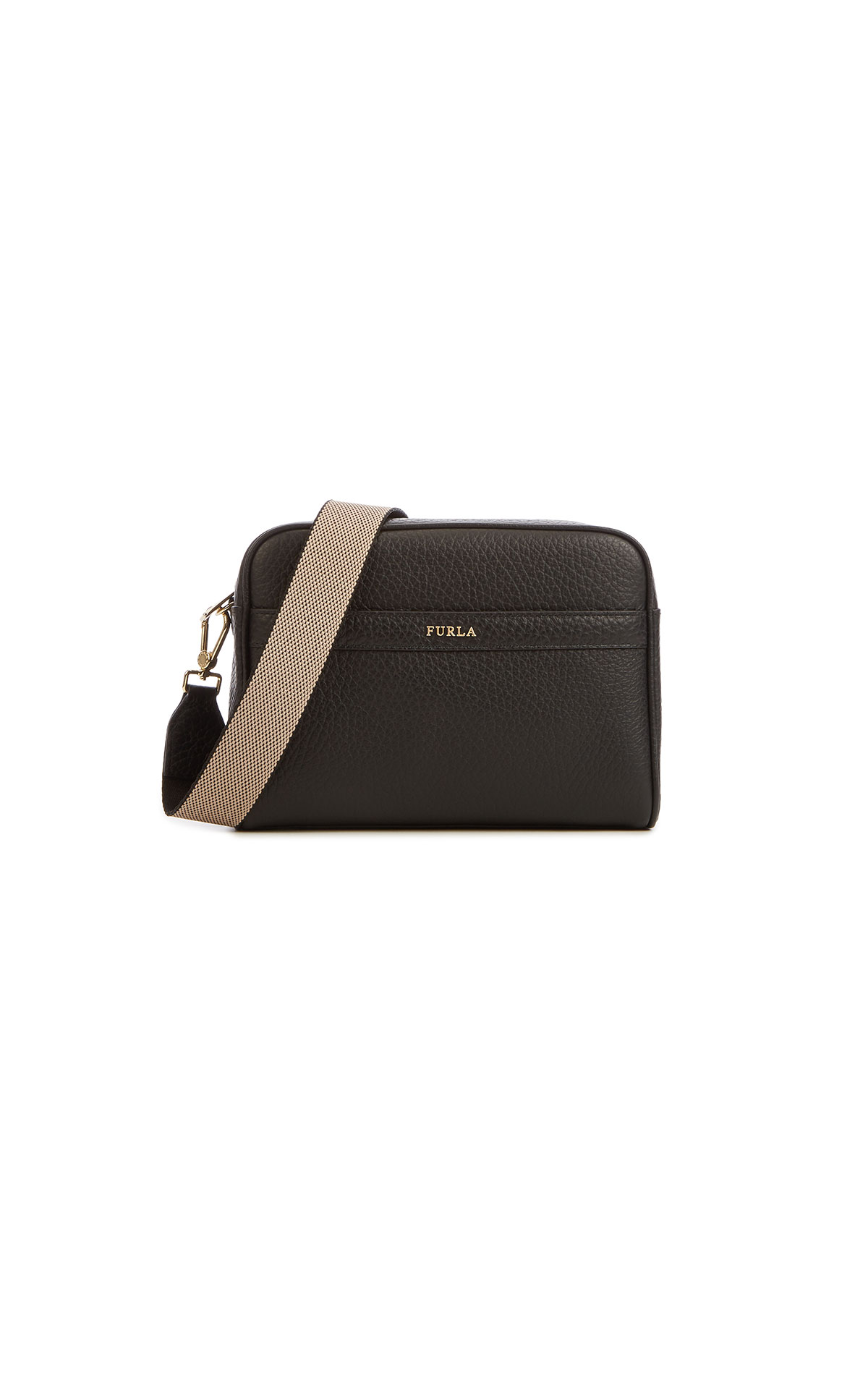 Furla's Avril small crossbody with web strap at The Bicester Village Shopping Collection