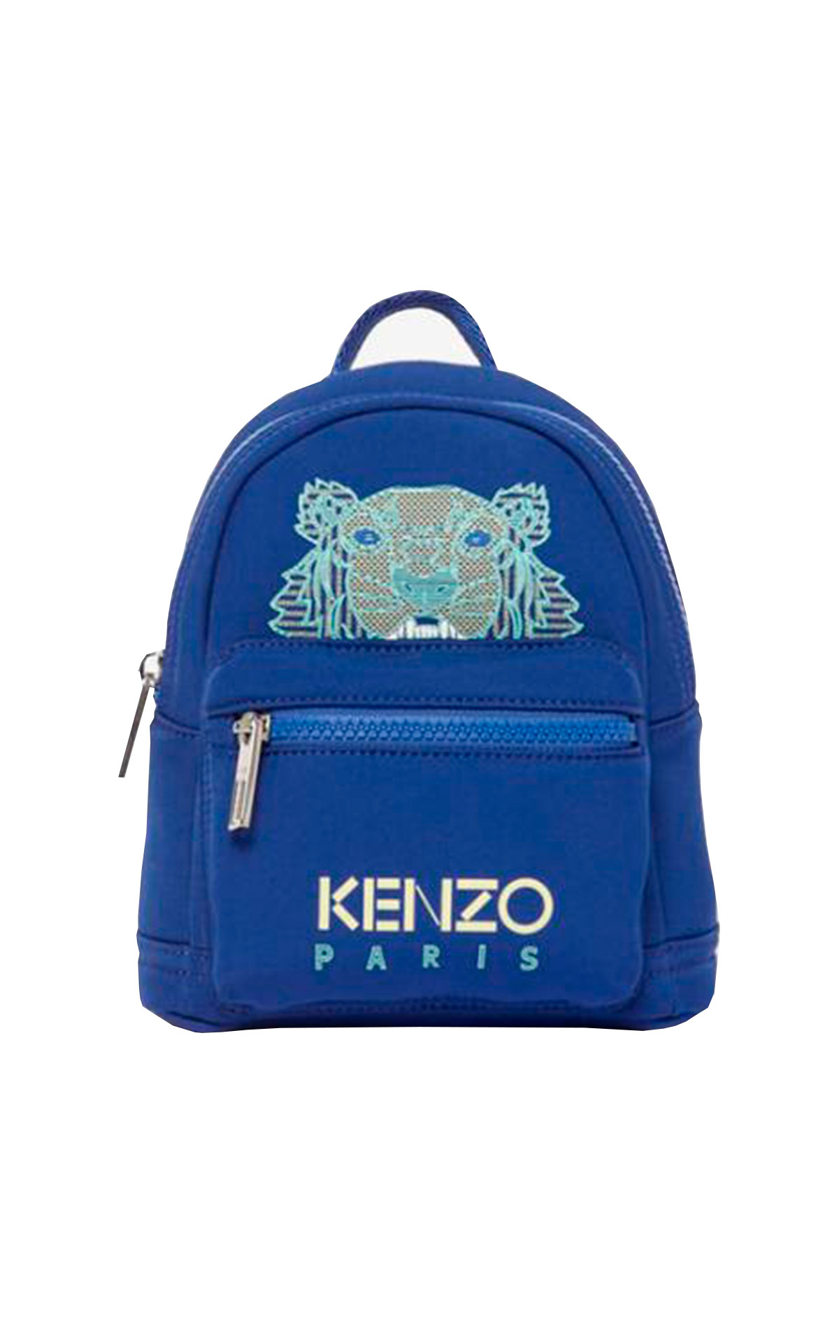 Blue backpack with a tiger Kenzo