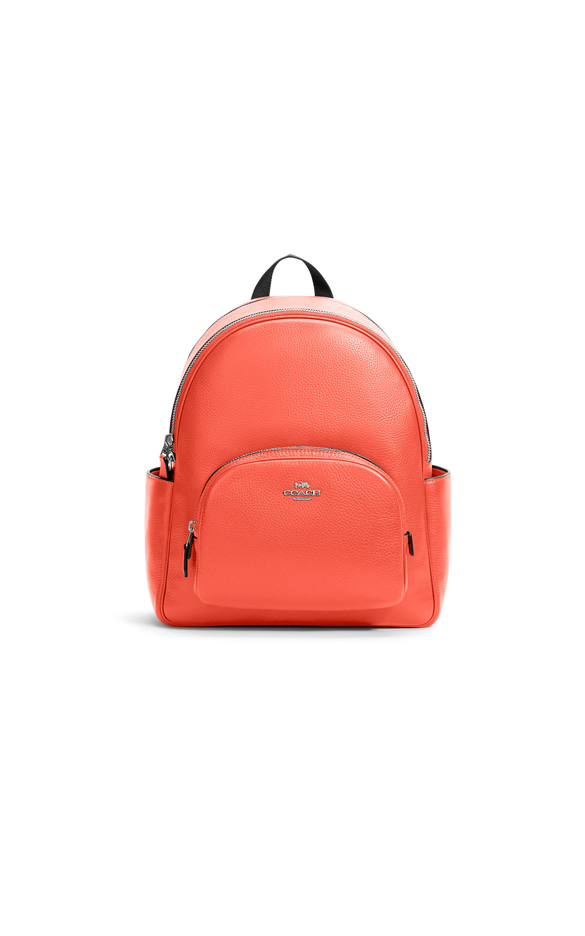 Coach pebbled leather court backpack
