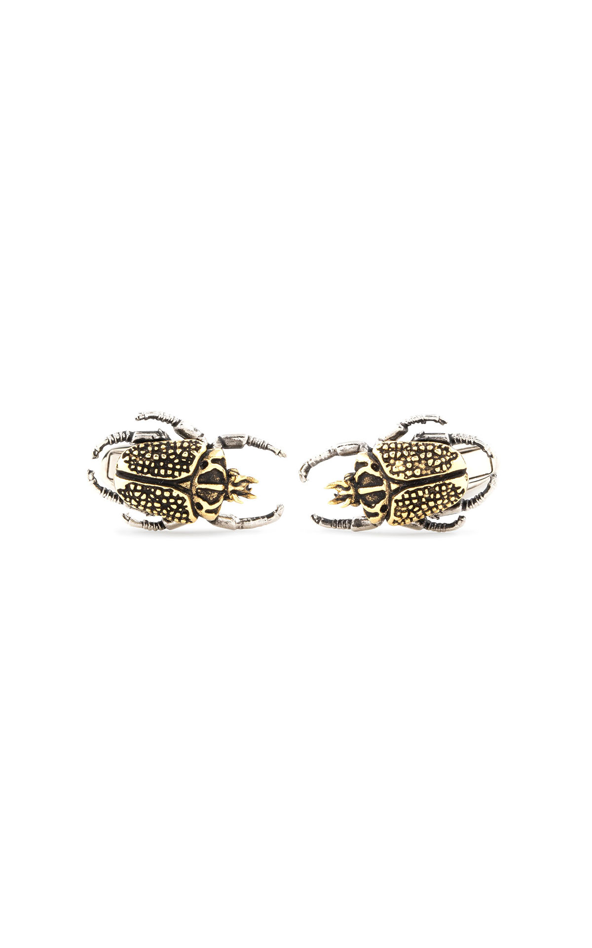 Paul Smith men's 'goliath beetle' cufflinks at The Bicester Village Shopping Collection
