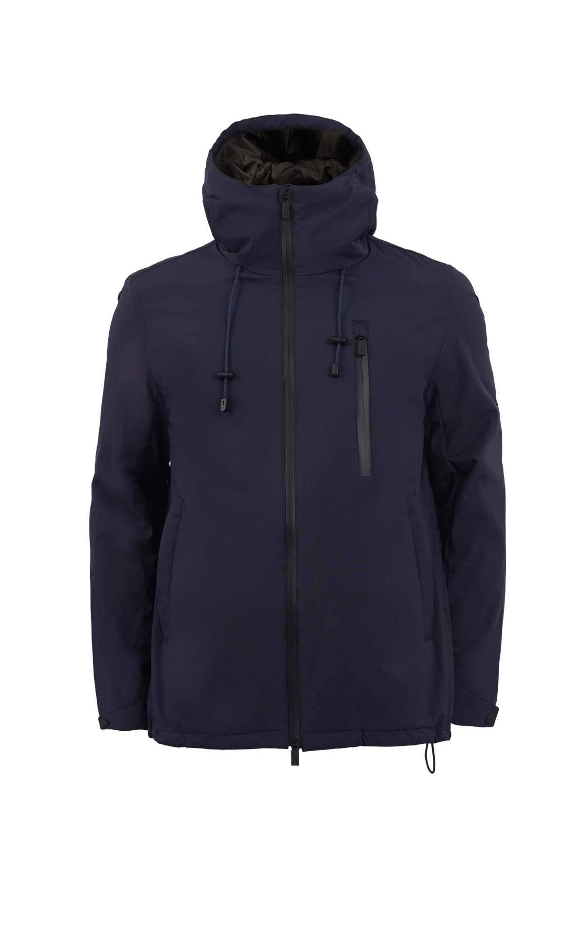 Navy blue parka Scalpers