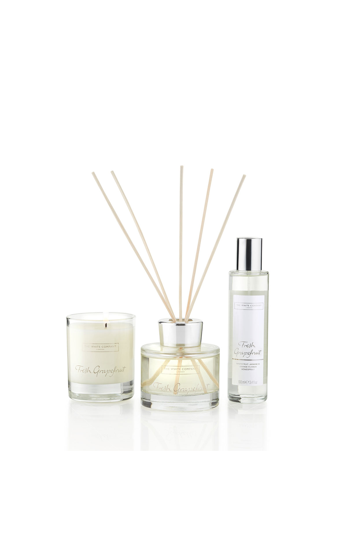The White Company Fresh grapefruit diffuser from Bicester Village