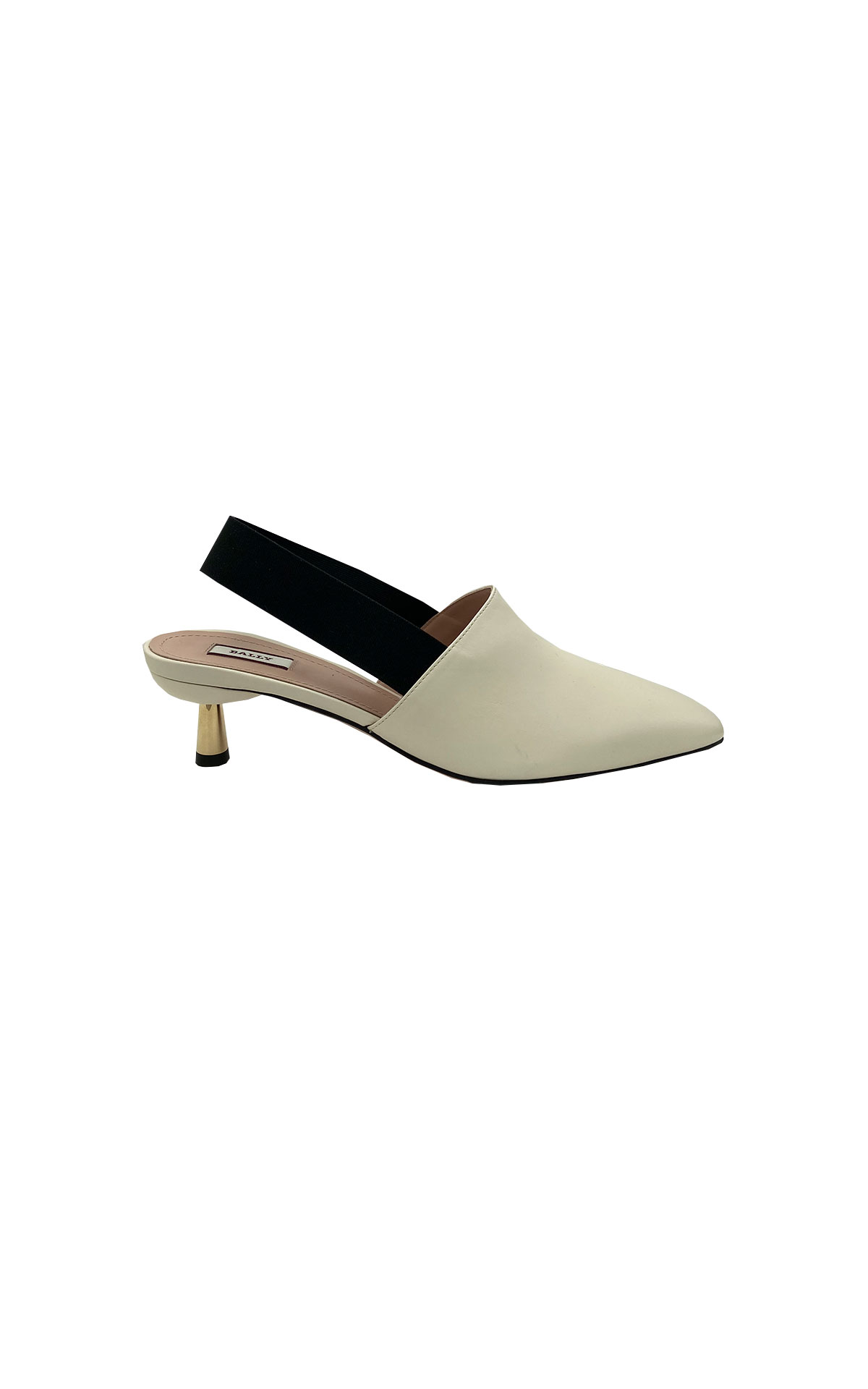 White heeled shoe Bally