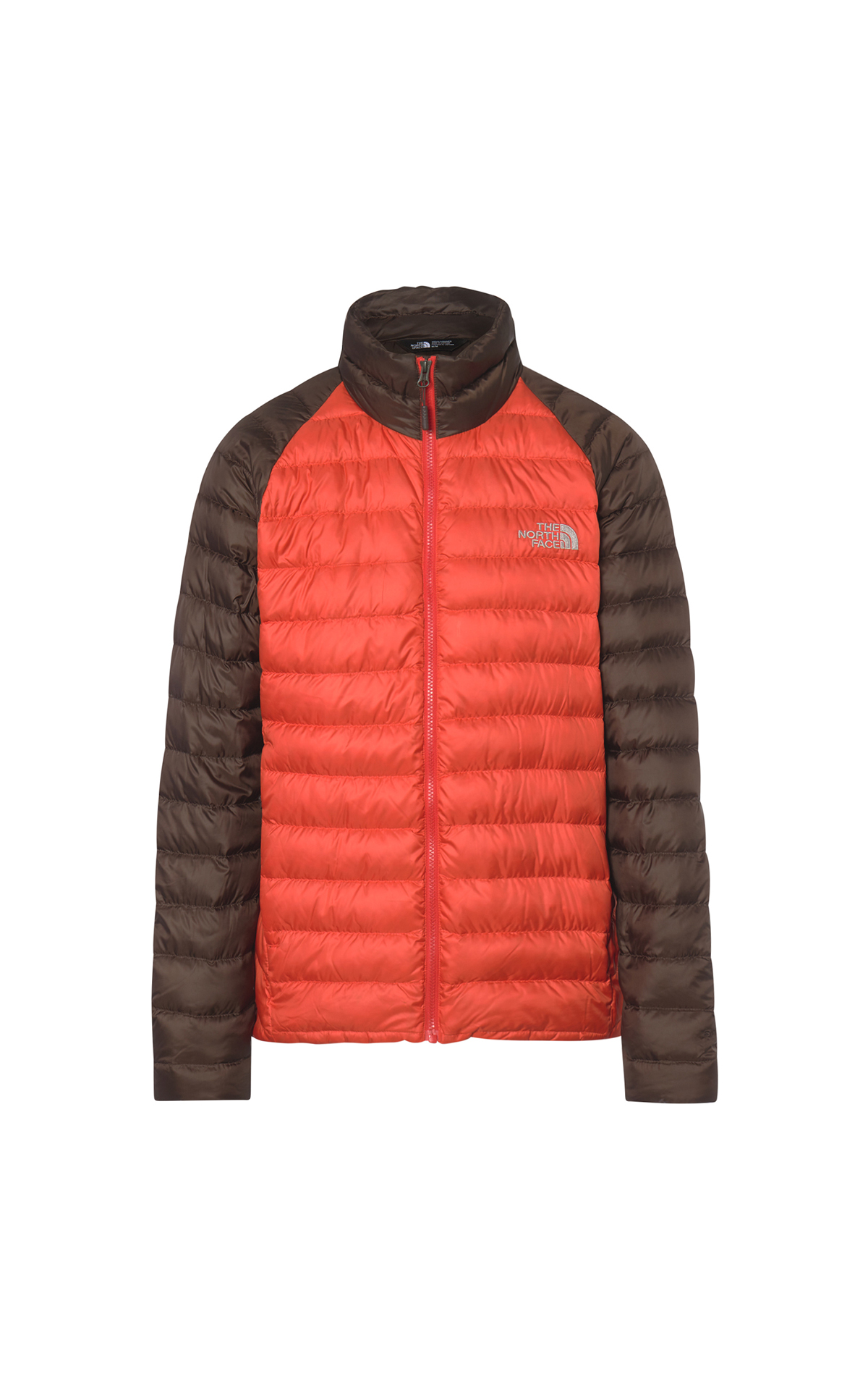 Orange brown man down The North Face