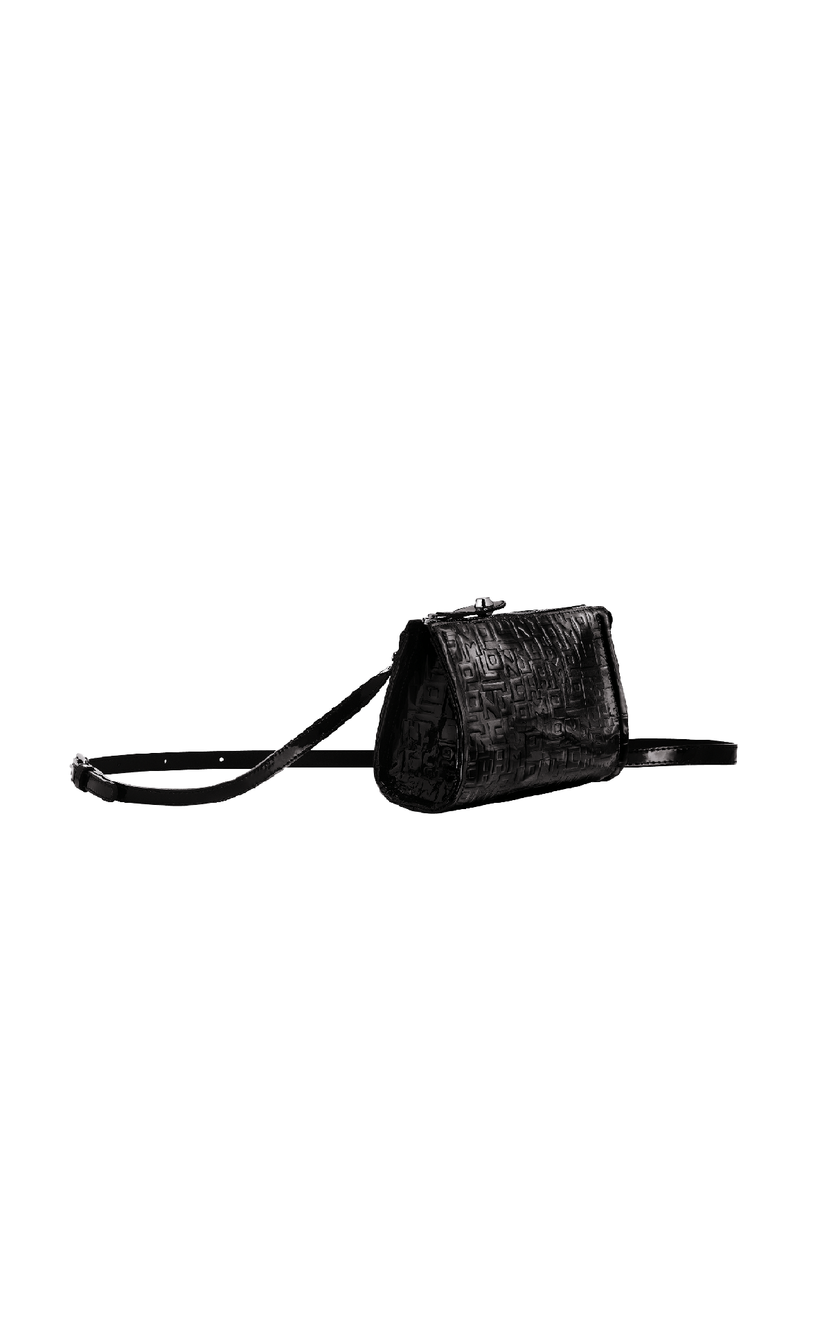 Small black printed bag Longchamp