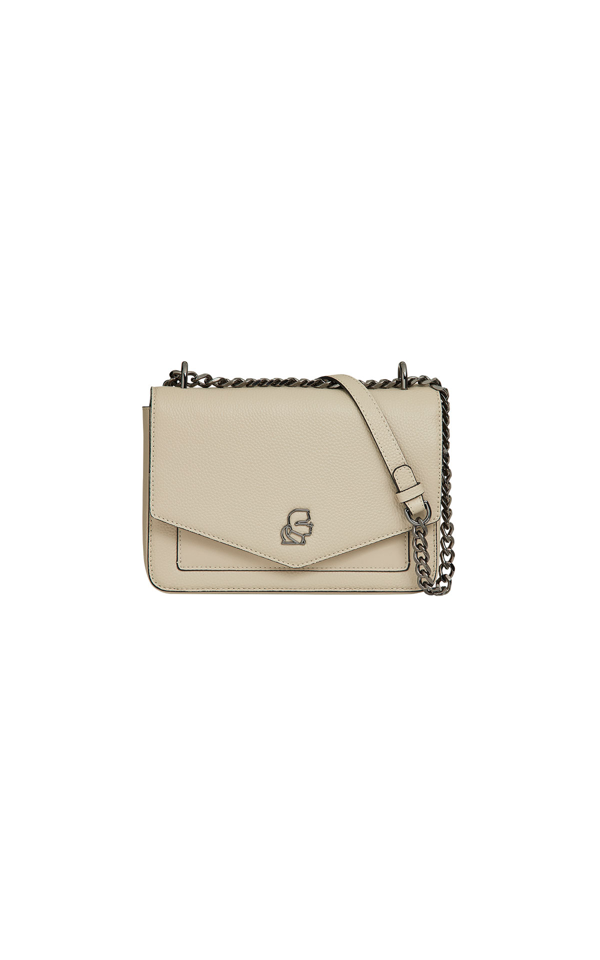Karl Lagerfeld Pebble Shoulder Bag at the Bicester Village Shopping Collection