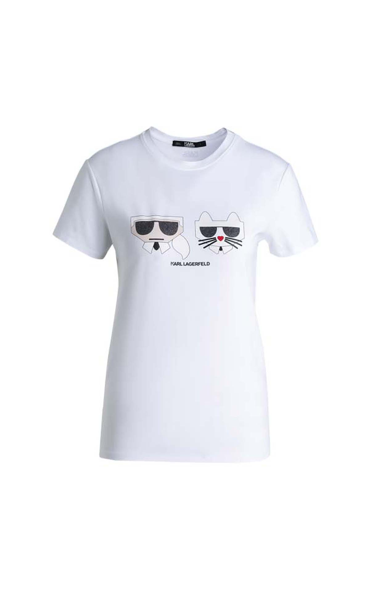 Karl Lagerfeld Kocktail couple tee at The Bicester Village Shopping Collection