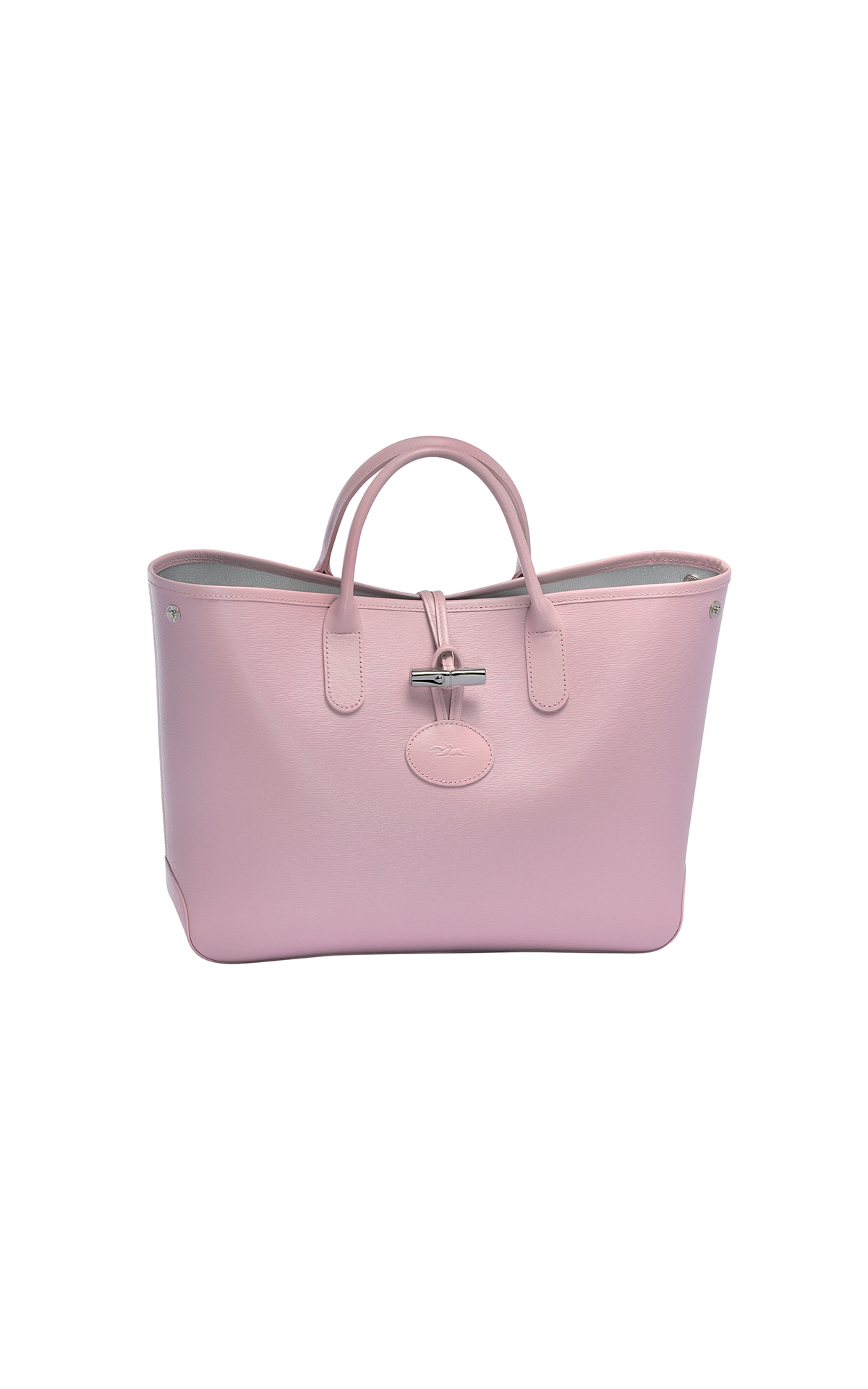 Longchamp Roseau short handle tote at Bicester Village
