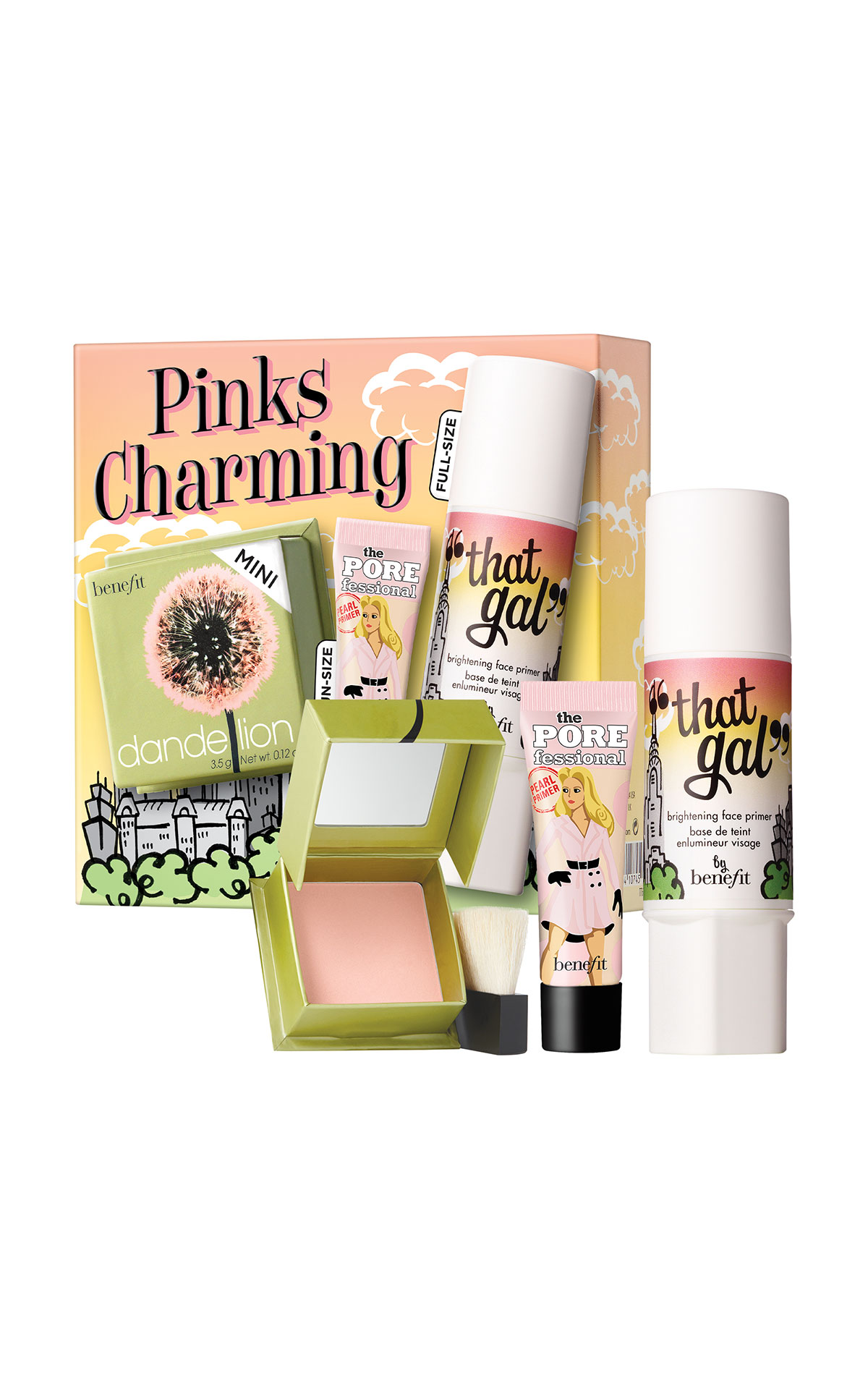 Benefit Cosmetics Pinks Charming primer and blush set from Bicester Village