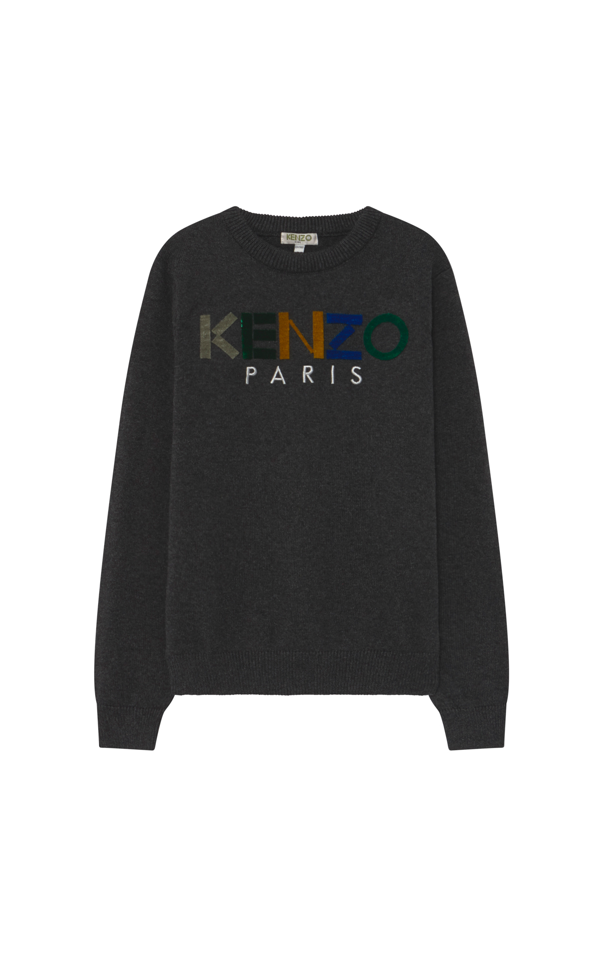 Dark grey Kenzo sweater children Kidiliz